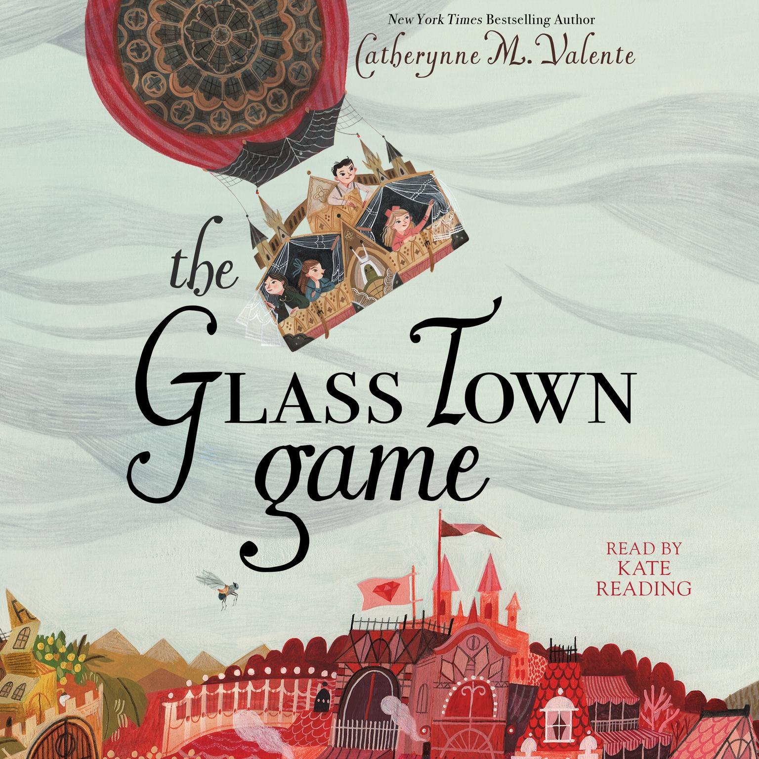 Printable The Glass Town Game Audiobook Cover Art
