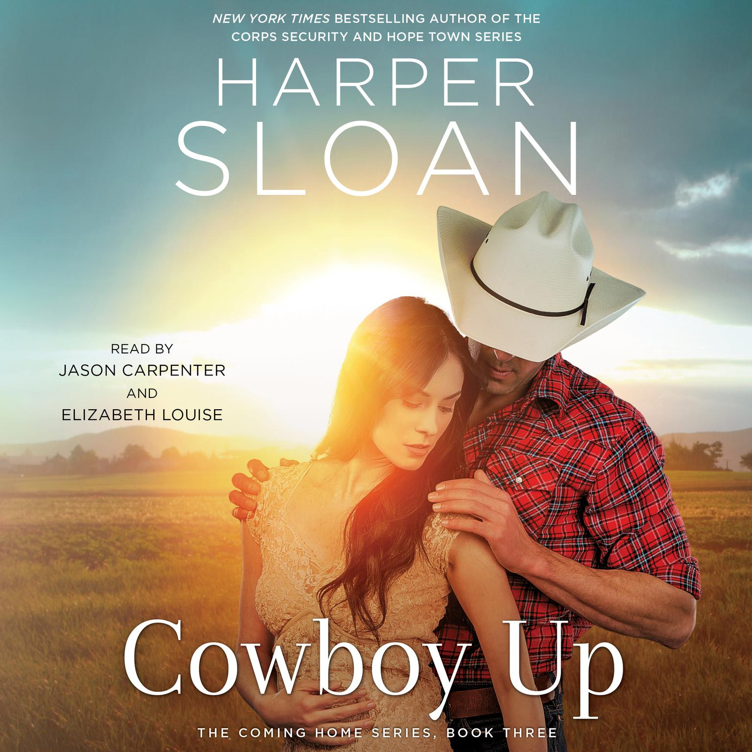 Printable Cowboy Up Audiobook Cover Art