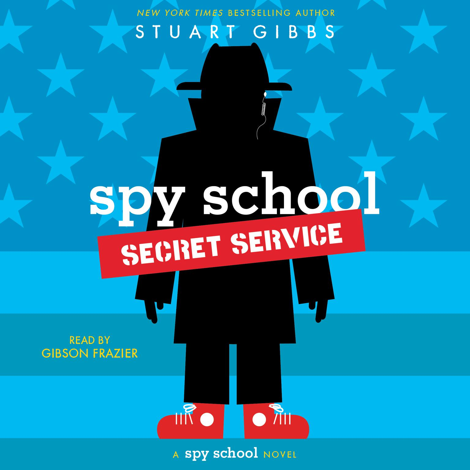 Printable Spy School Secret Service Audiobook Cover Art