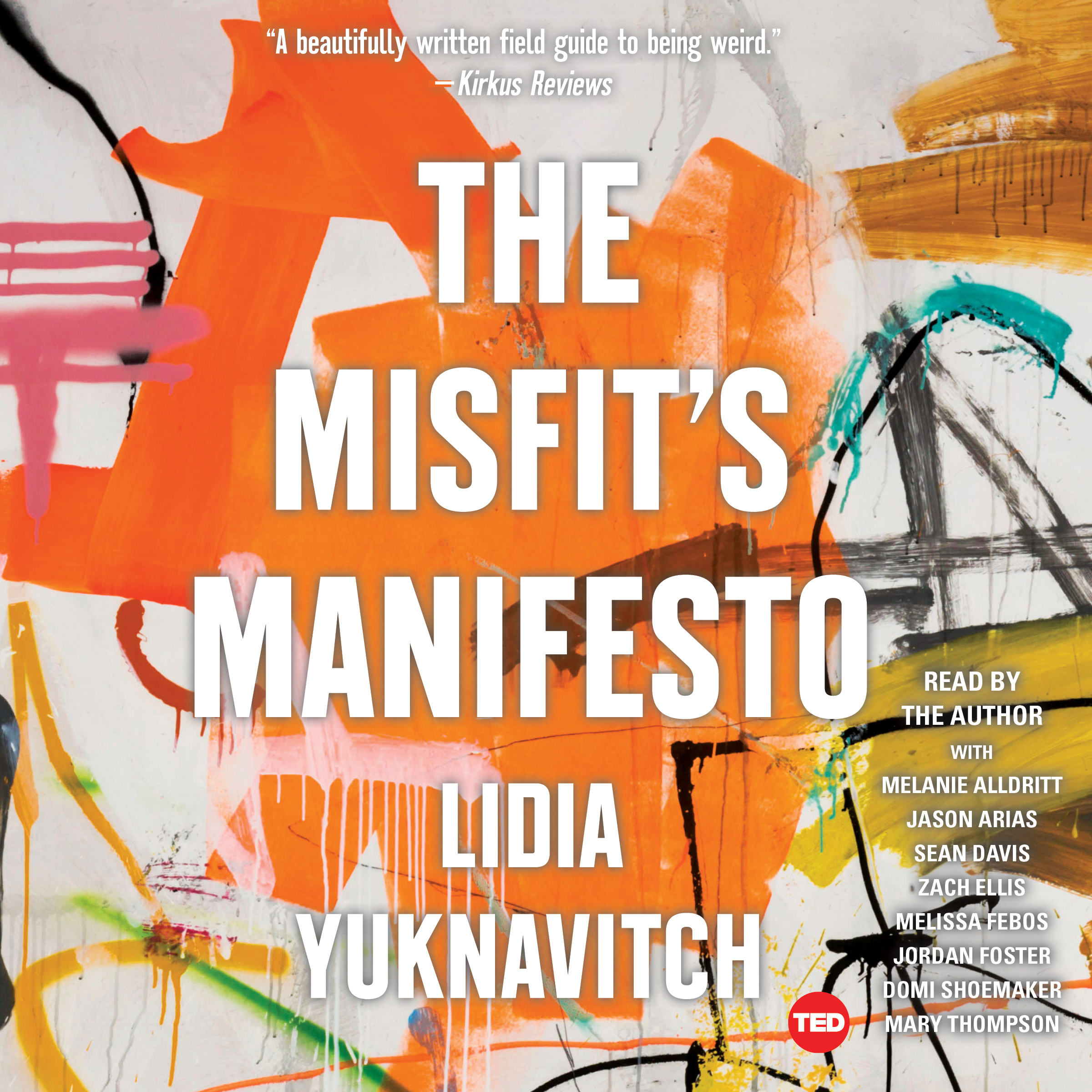 Printable The Misfit's Manifesto Audiobook Cover Art