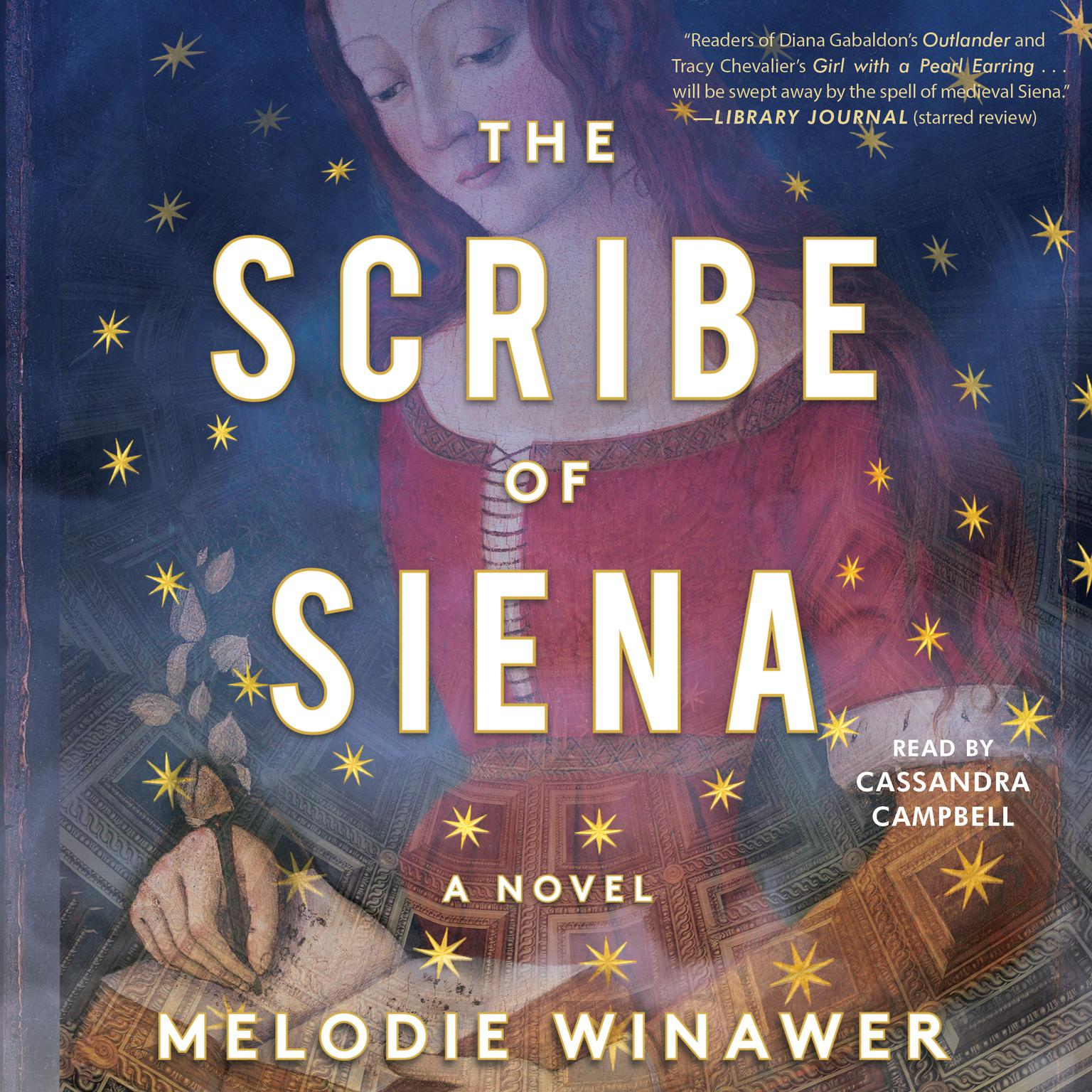 Printable The Scribe of Siena Audiobook Cover Art