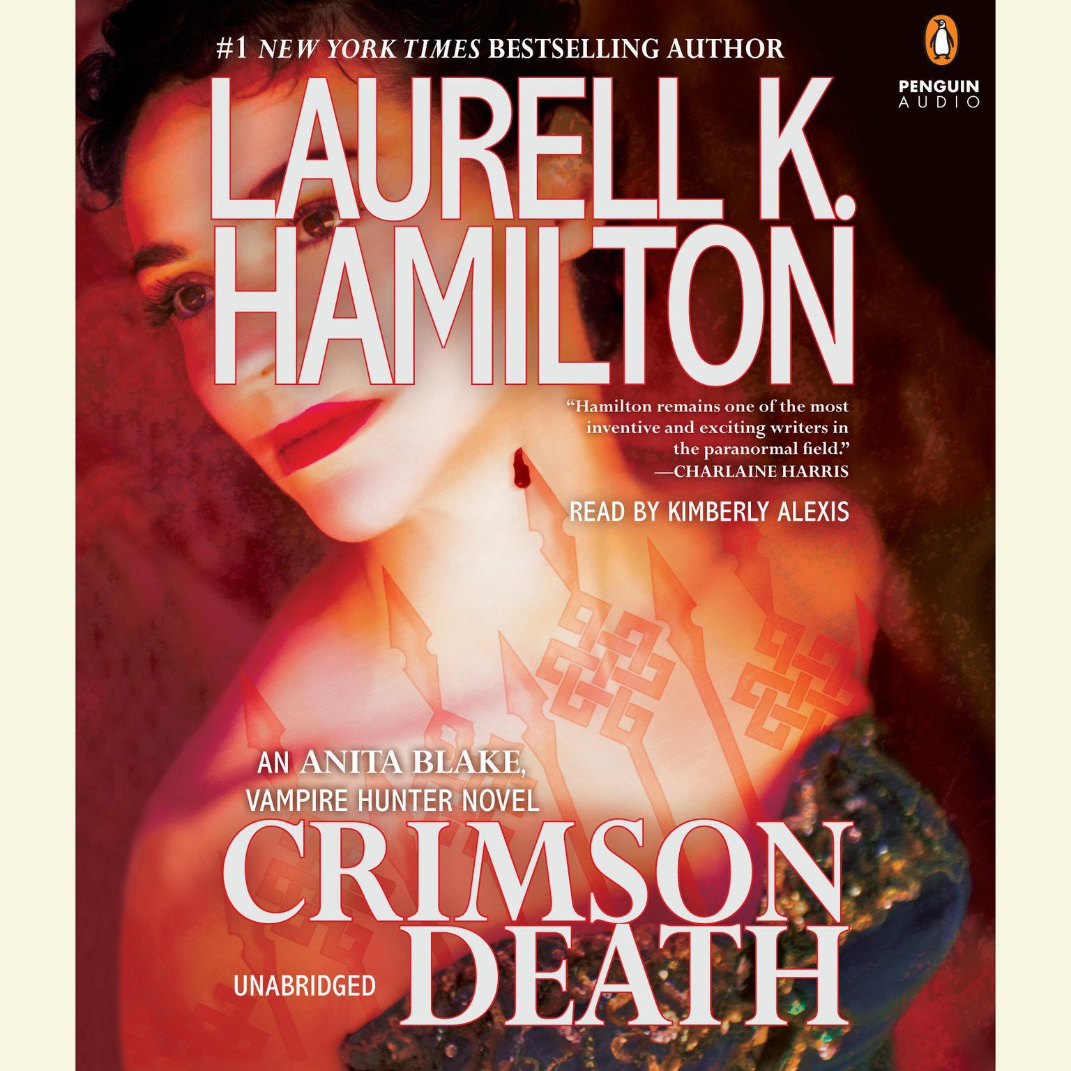 Printable Crimson Death Audiobook Cover Art