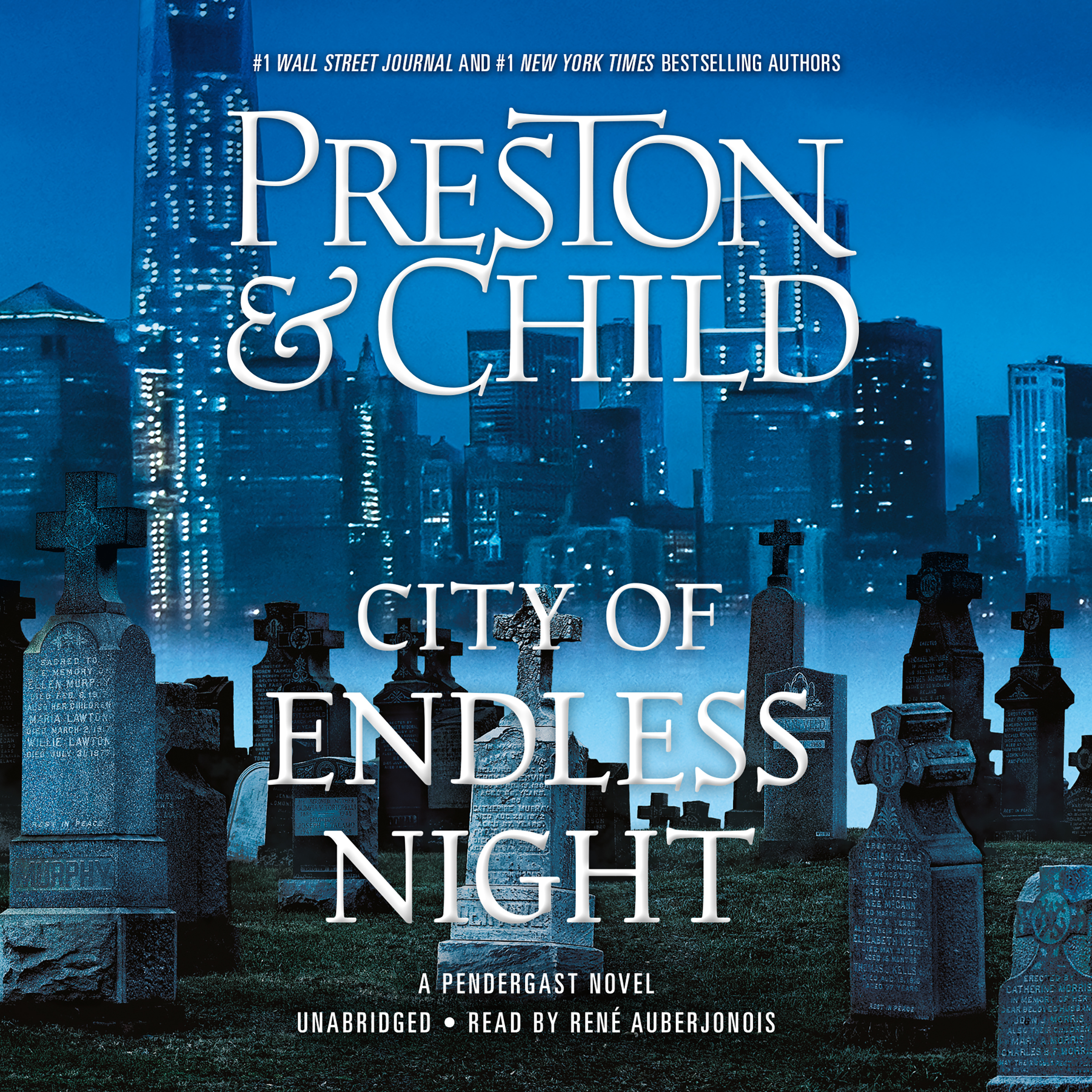 Printable City of Endless Night Audiobook Cover Art