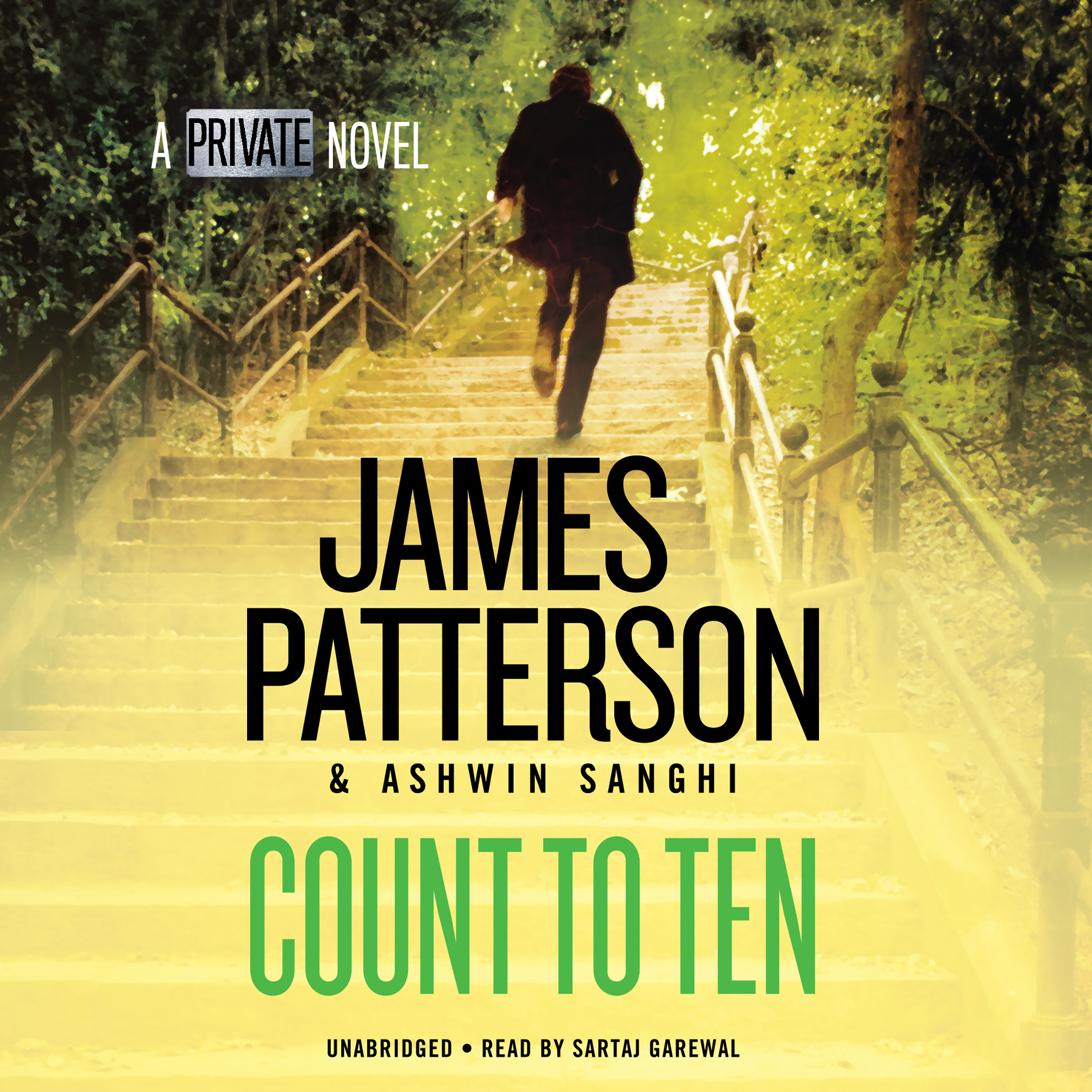 Printable Count to Ten: A Private Novel Audiobook Cover Art