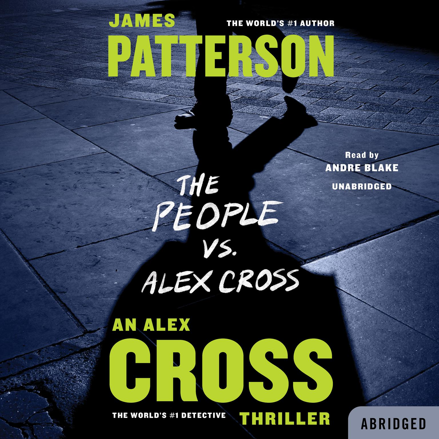 Printable The People vs. Alex Cross Audiobook Cover Art