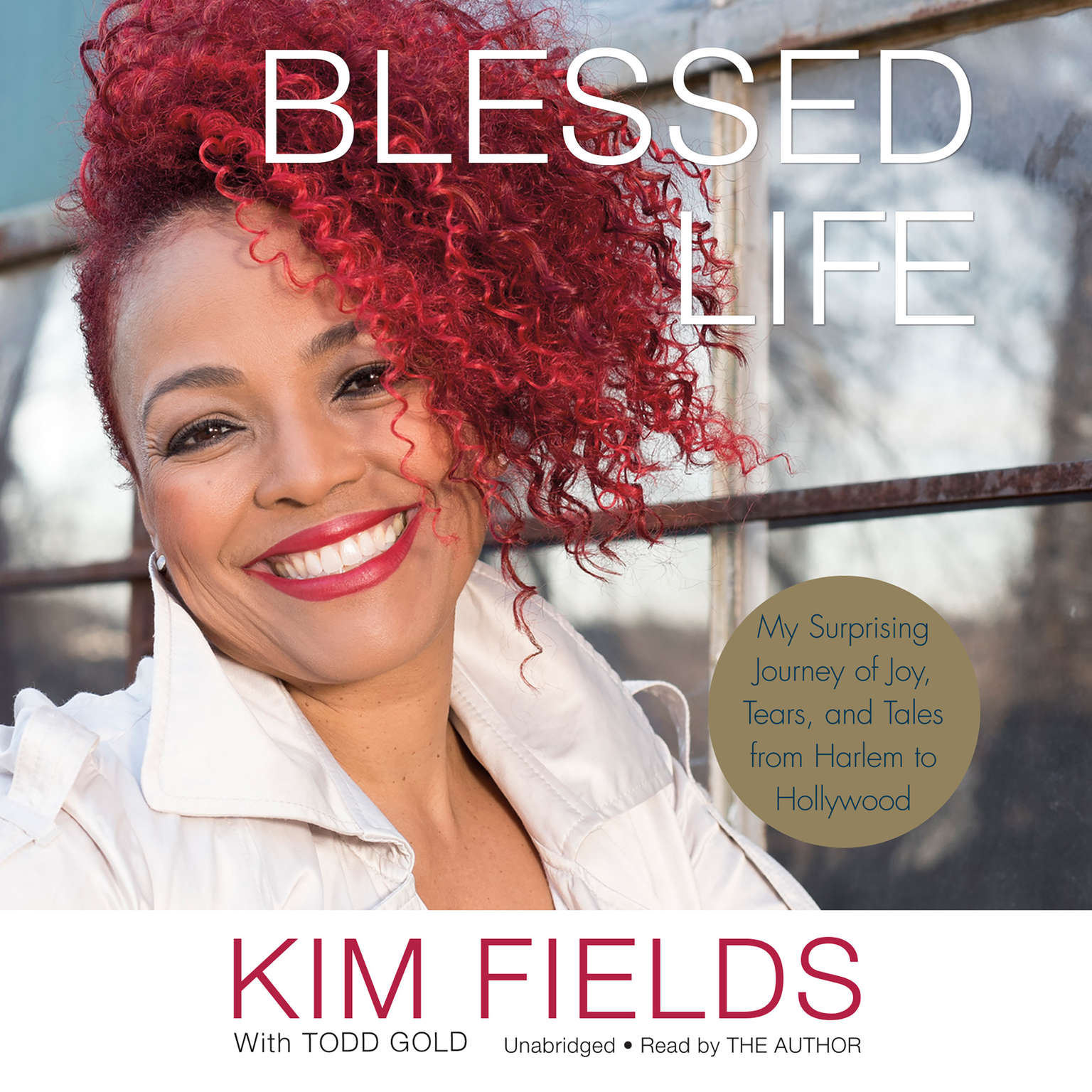 Printable Blessed Life: My Surprising Journey of Joy, Tears, and Tales from Harlem to Hollywood Audiobook Cover Art