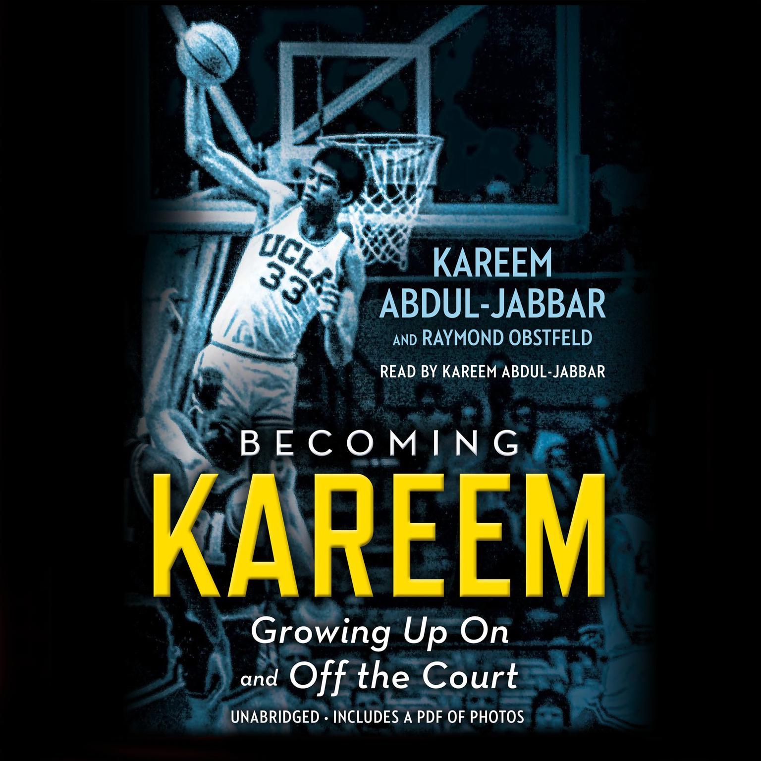 Printable Becoming Kareem: Growing Up On and Off the Court Audiobook Cover Art
