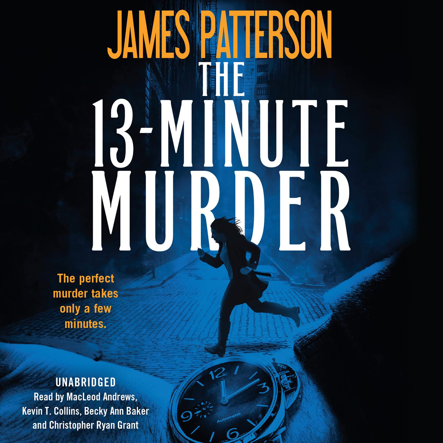 Printable The 13-Minute Murder: A Thriller Audiobook Cover Art