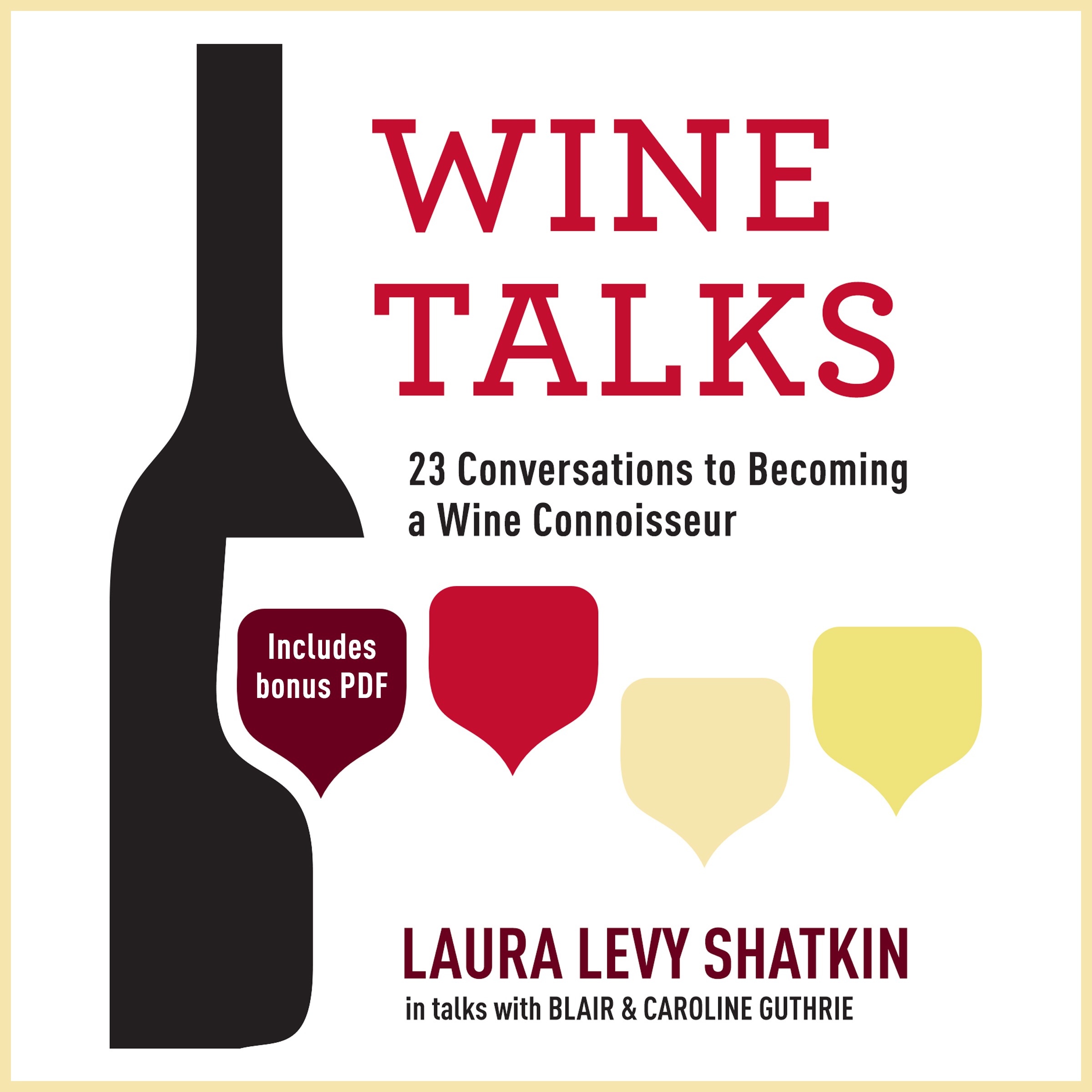 Printable Wine Talks: 23 Conversations to Becoming a Wine Connoisseur Audiobook Cover Art