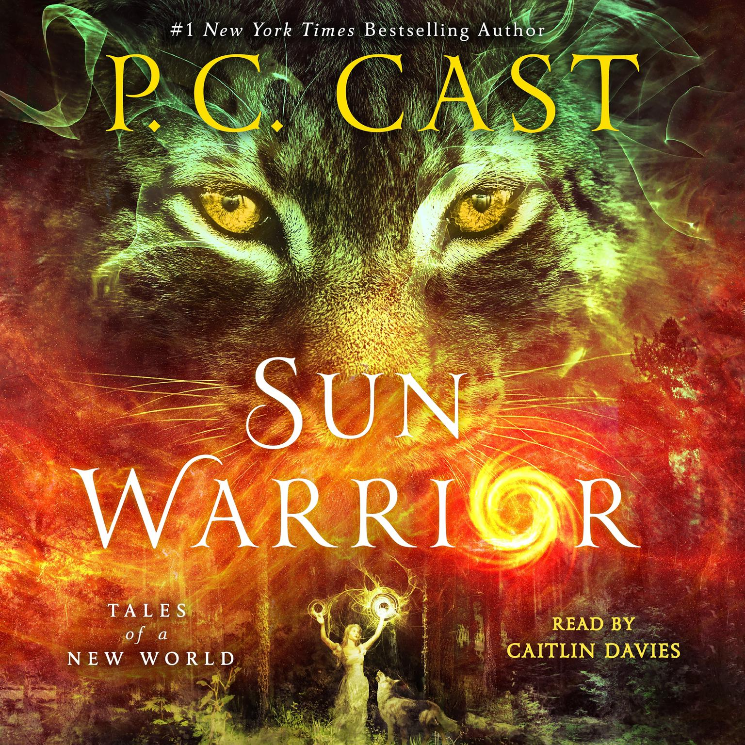 Printable Sun Warrior: Tales of a New World Audiobook Cover Art