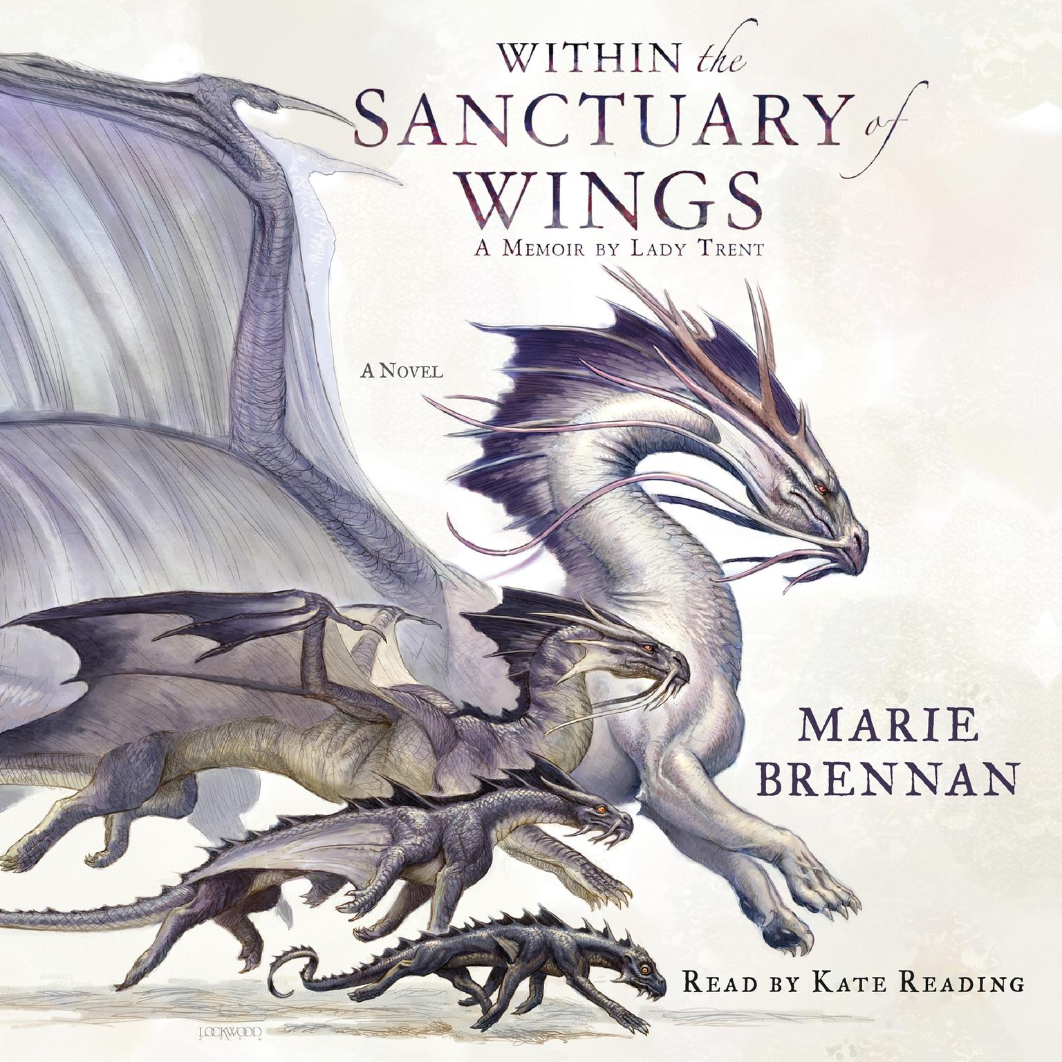 Printable Within the Sanctuary of Wings: A Memoir by Lady Trent Audiobook Cover Art