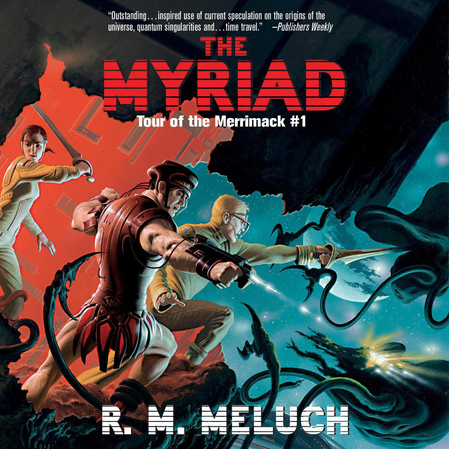 Printable The Myriad Audiobook Cover Art