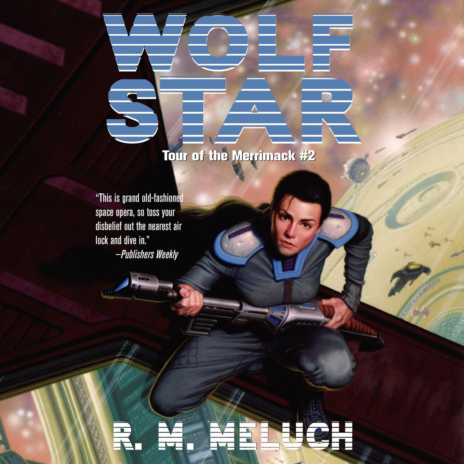 Printable Wolf Star Audiobook Cover Art