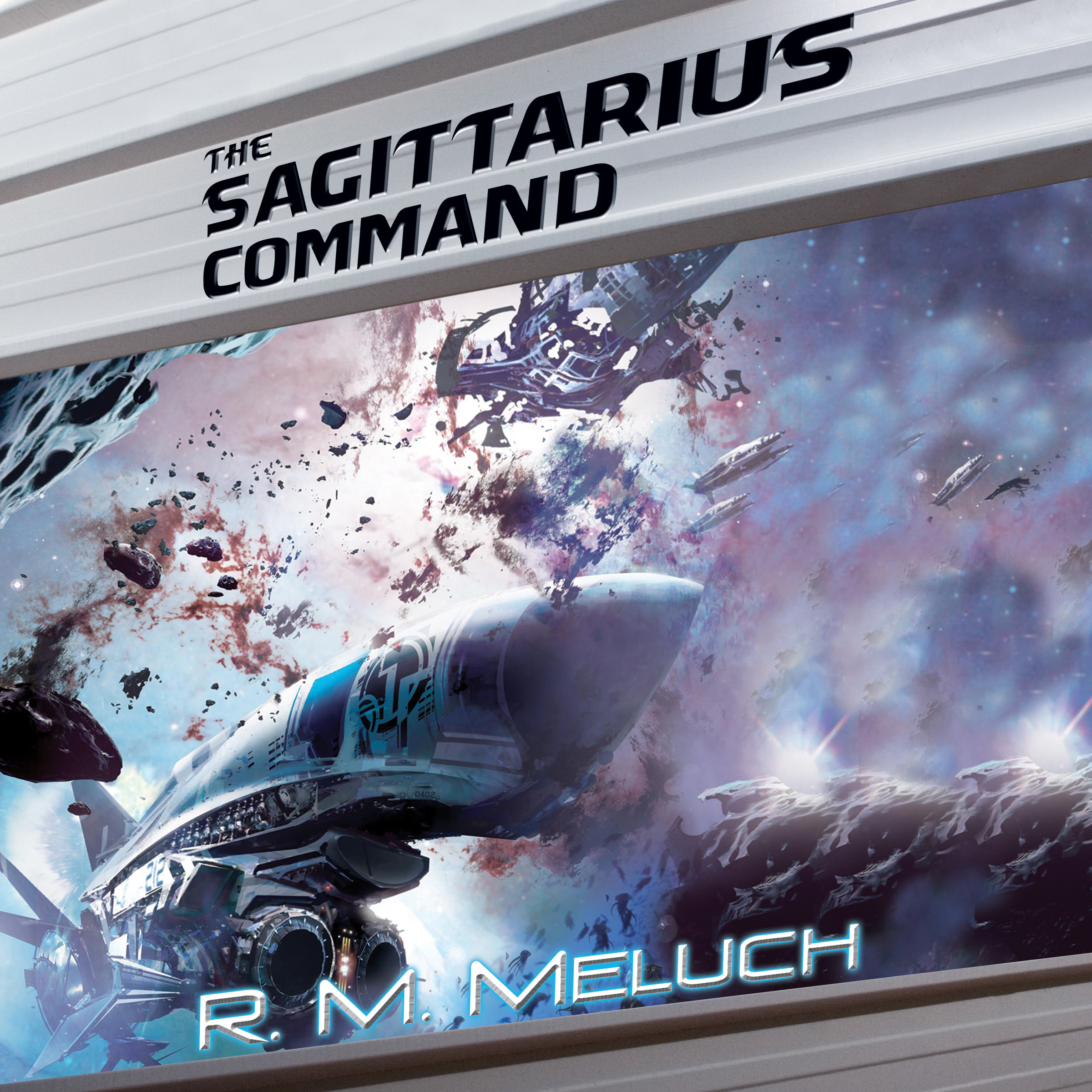 Printable The Sagittarius Command Audiobook Cover Art