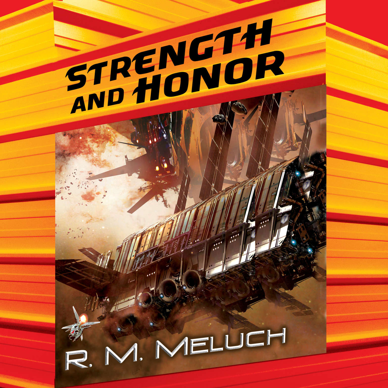 Printable Strength and Honor Audiobook Cover Art