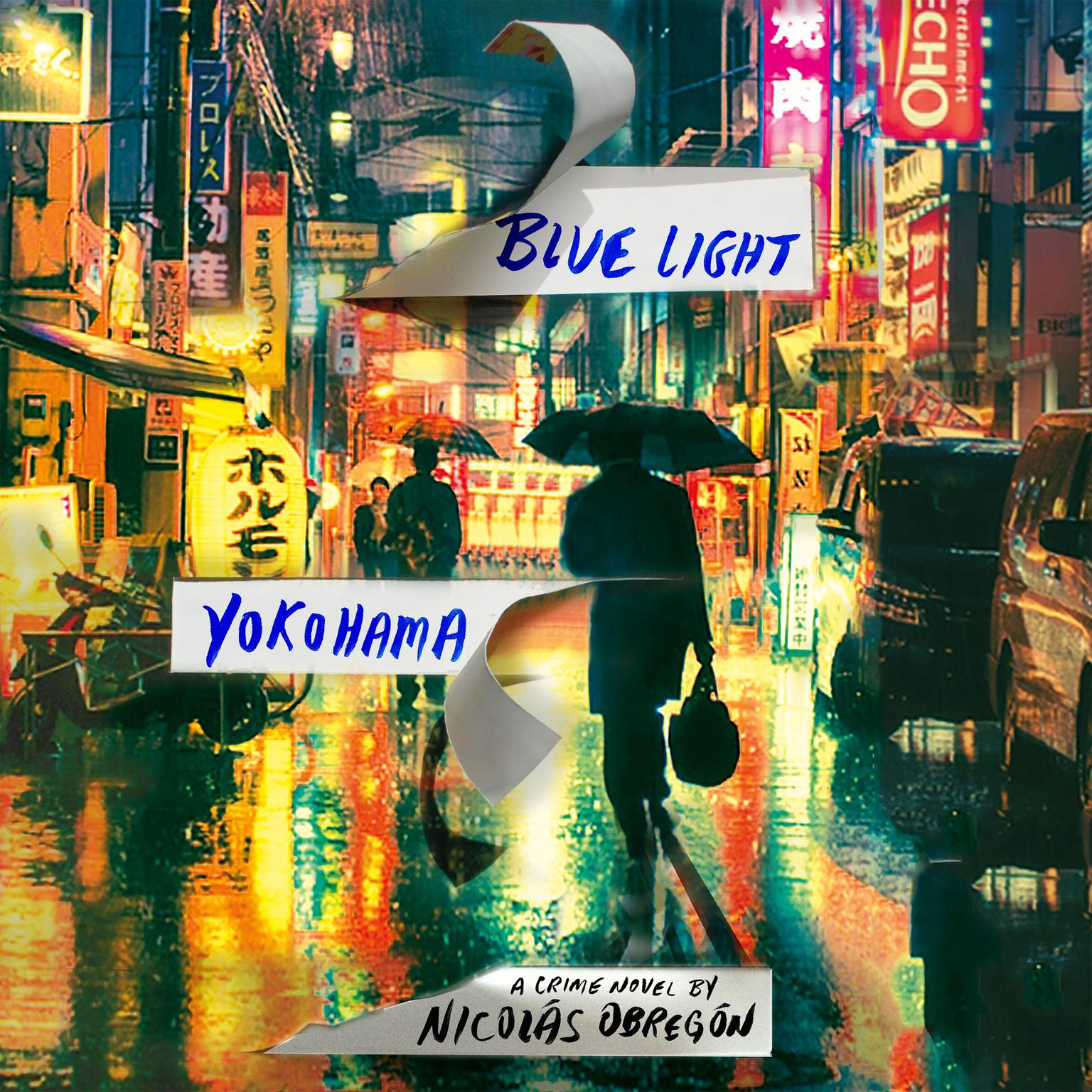Printable Blue Light Yokohama Audiobook Cover Art