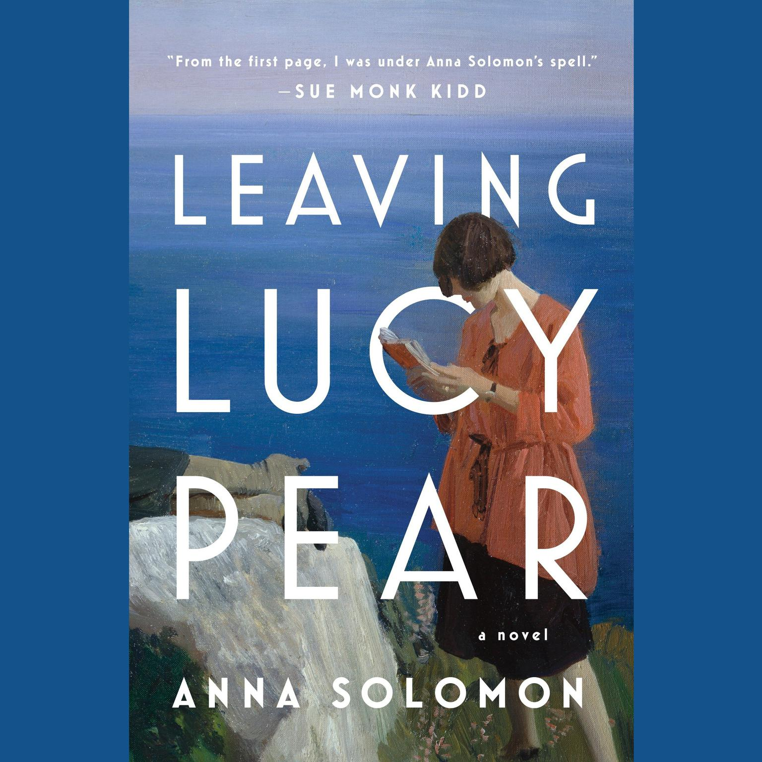 Printable Leaving Lucy Pear Audiobook Cover Art