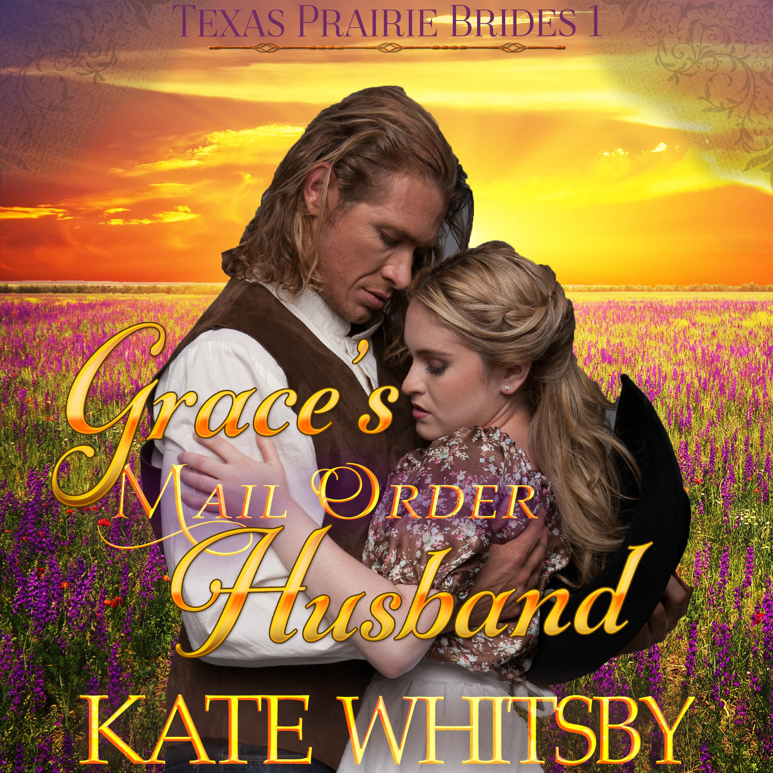 Printable Grace's Mail Order Husband (Texas Prairie Brides, Book 1) Audiobook Cover Art