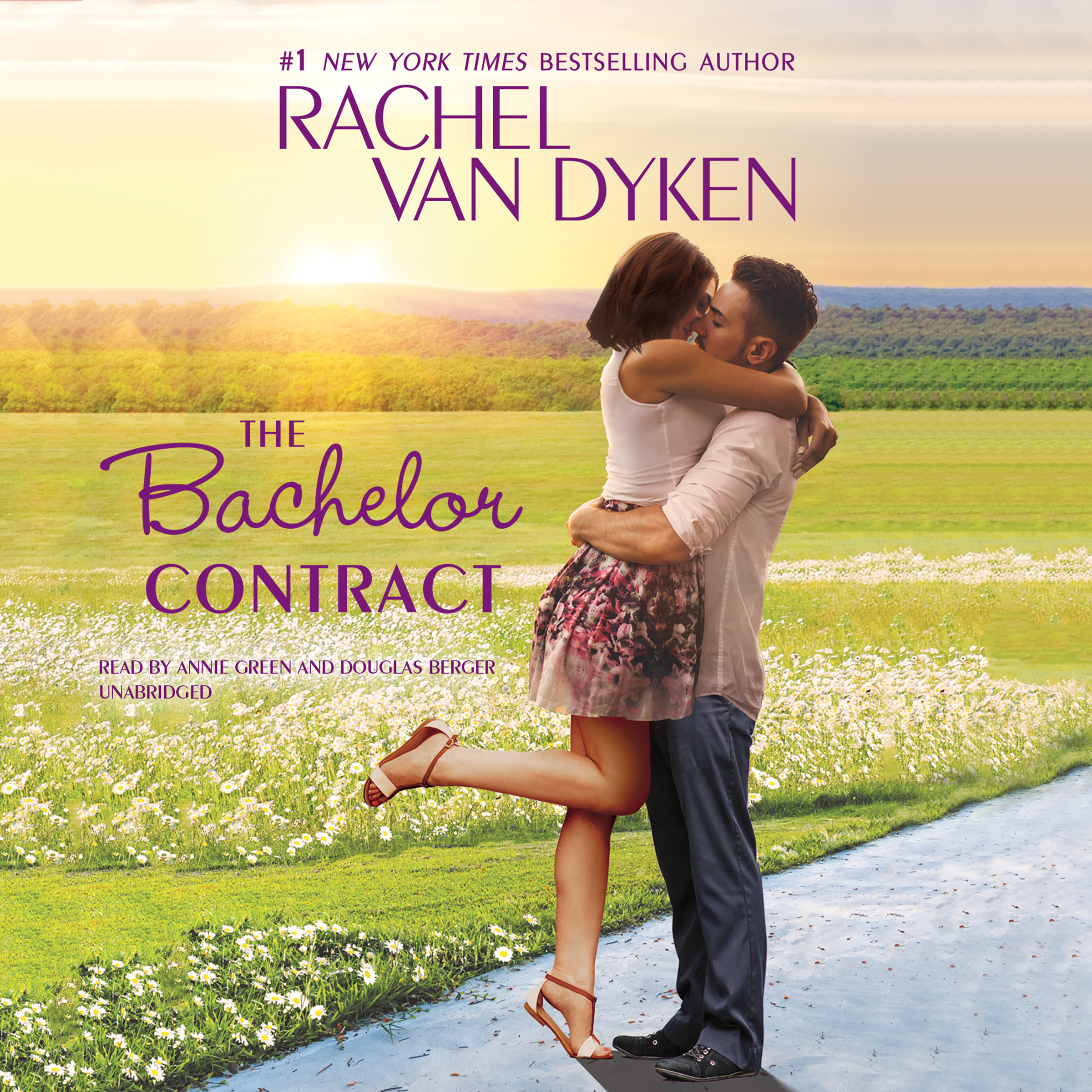 Printable The Bachelor Contract Audiobook Cover Art