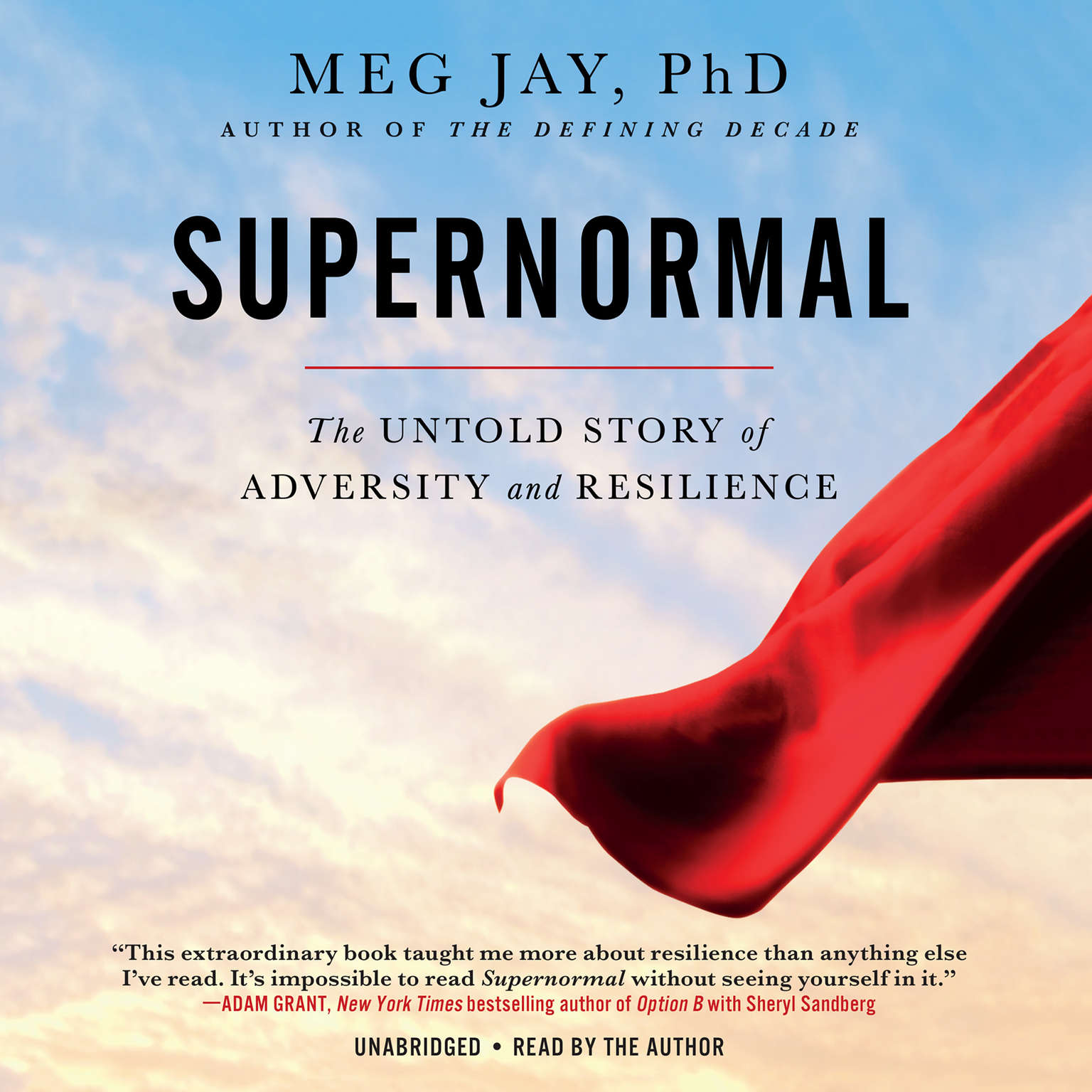 Printable Supernormal: The Untold Story of Adversity and Resilience Audiobook Cover Art