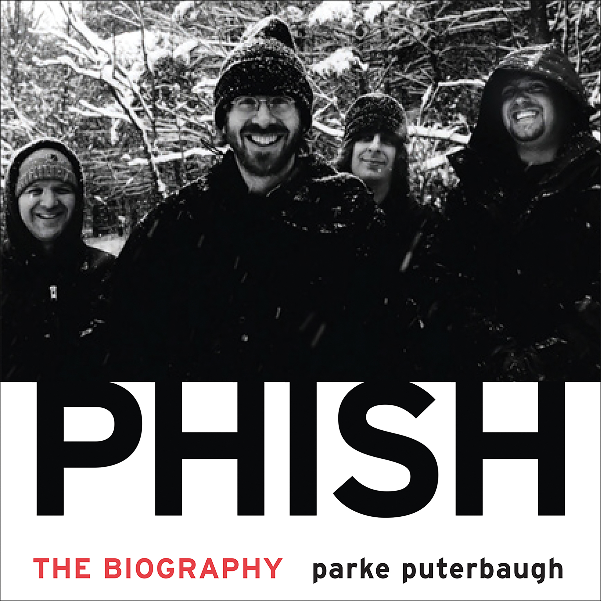 Printable Phish: The Biography Audiobook Cover Art