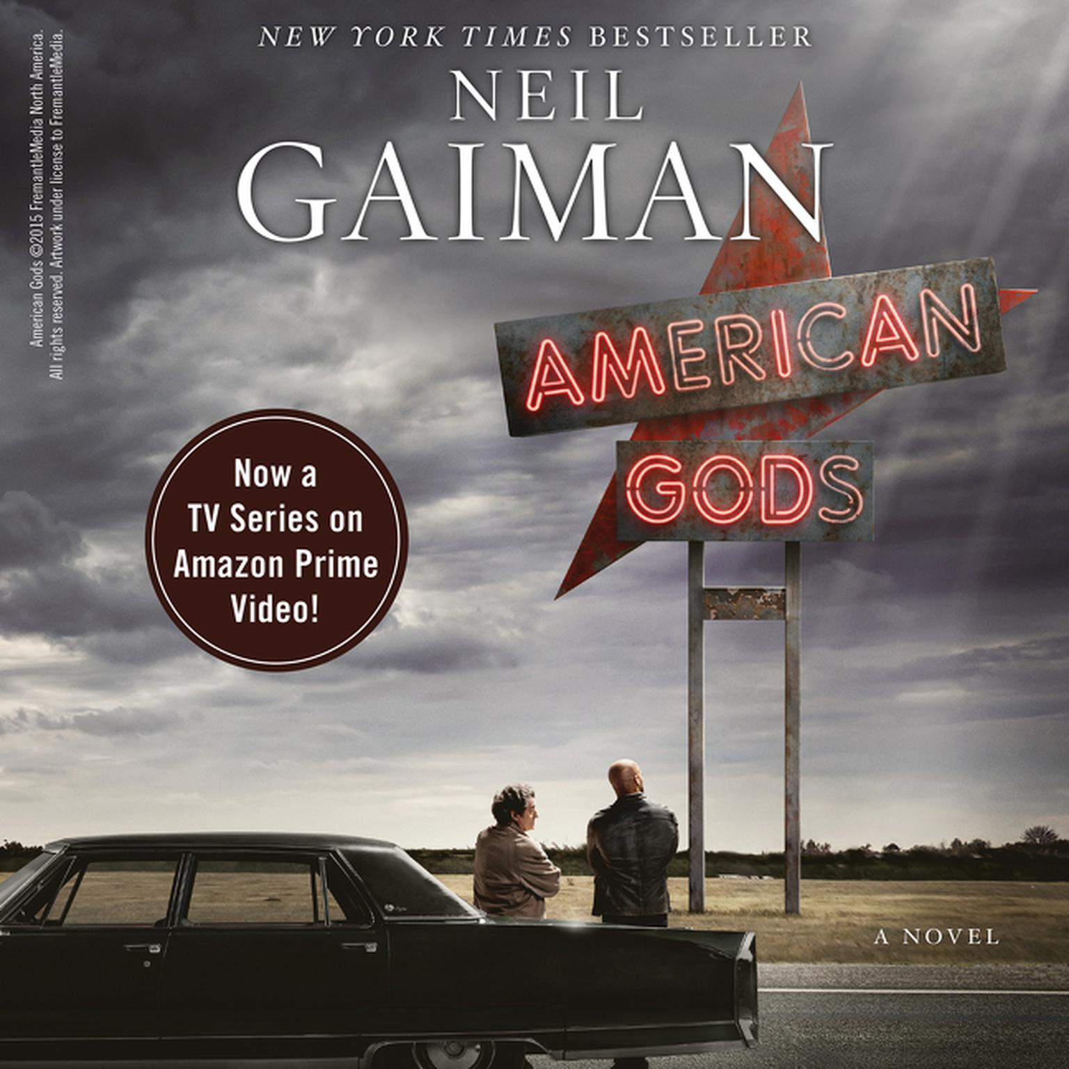 Printable American Gods [TV Tie-In]: A Novel Audiobook Cover Art