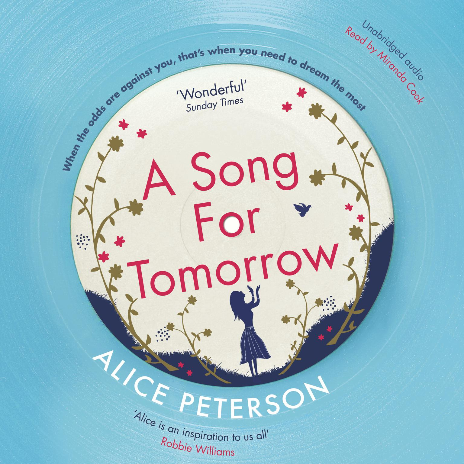 Printable A Song for Tomorrow Audiobook Cover Art