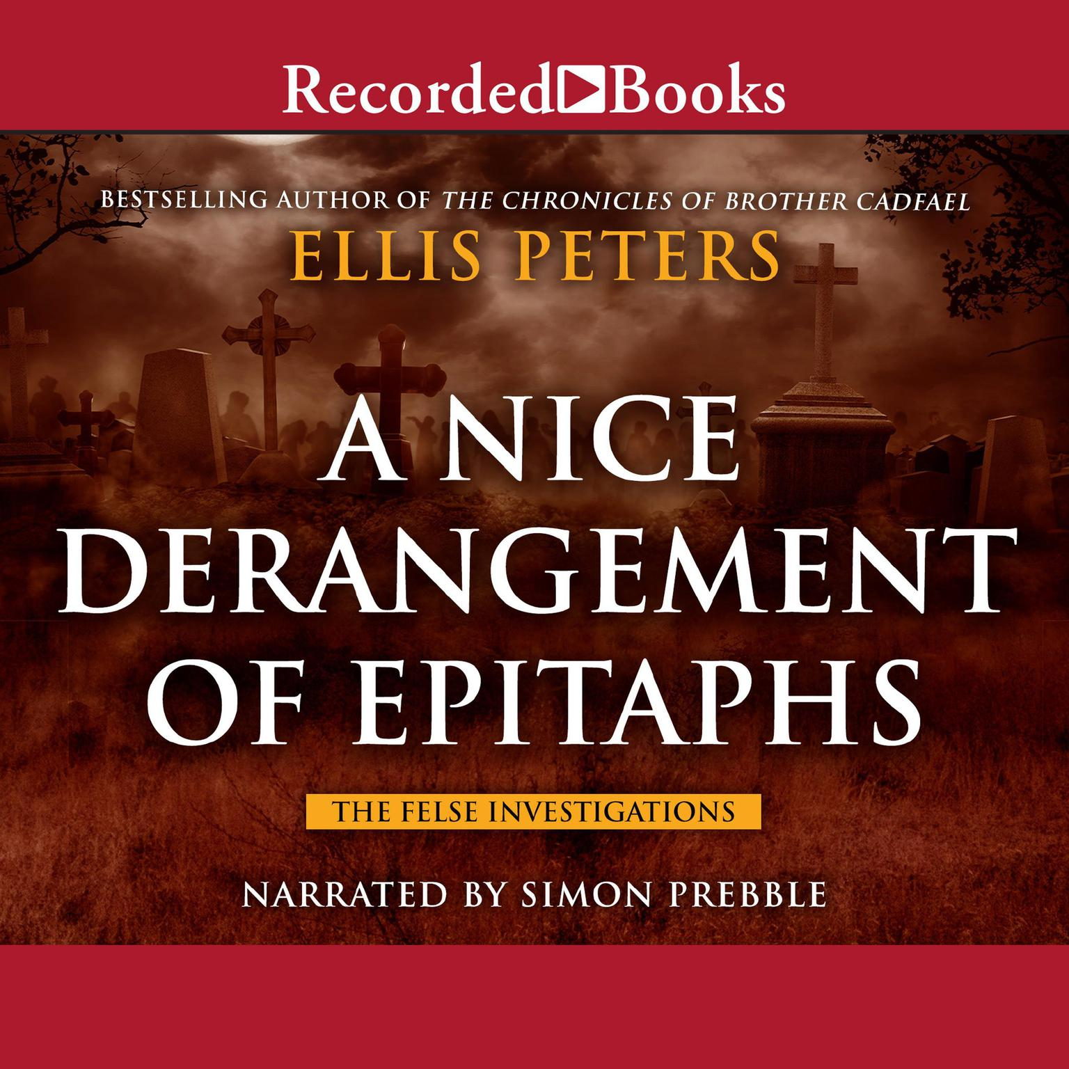 Printable A Nice Derangement of Epitaphs Audiobook Cover Art