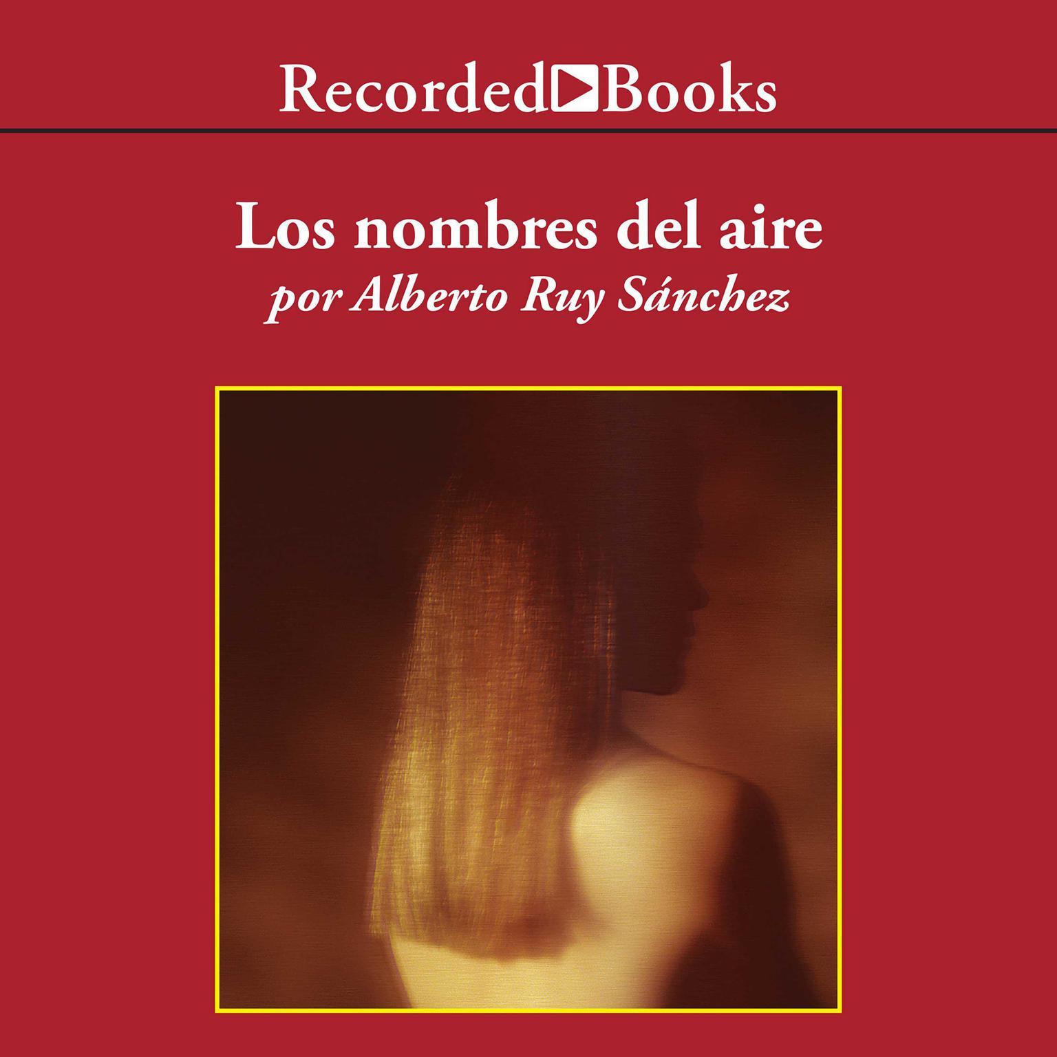 Printable Los nombres del aire Audiobook Cover Art