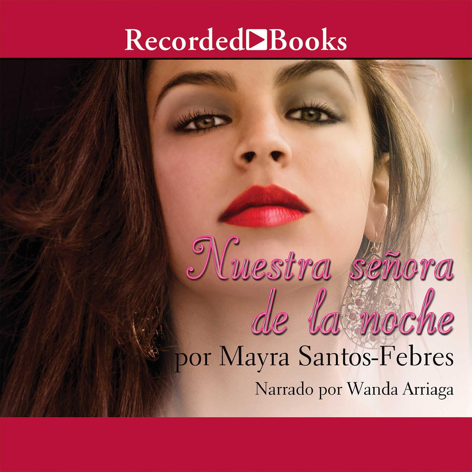 Printable Nuestra senora de la noche (Our Lady of the Night) Audiobook Cover Art