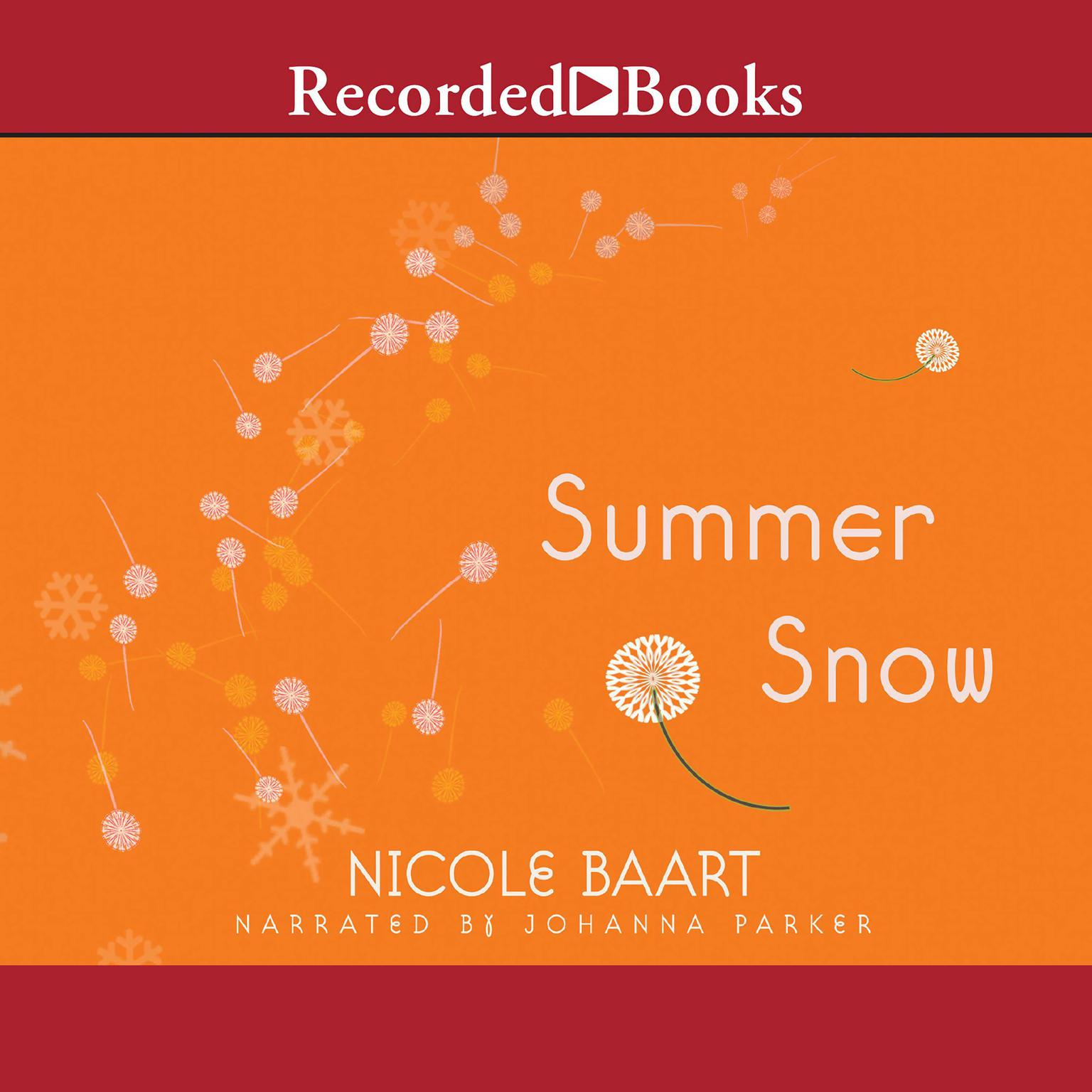 Printable Summer Snow Audiobook Cover Art