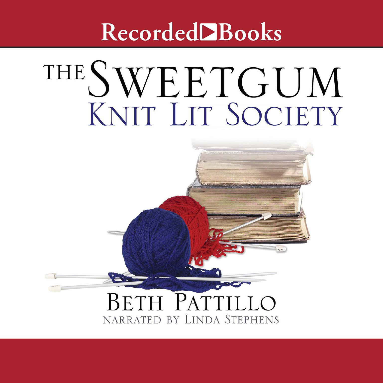 Printable Sweetgum Knit Lit Society Audiobook Cover Art