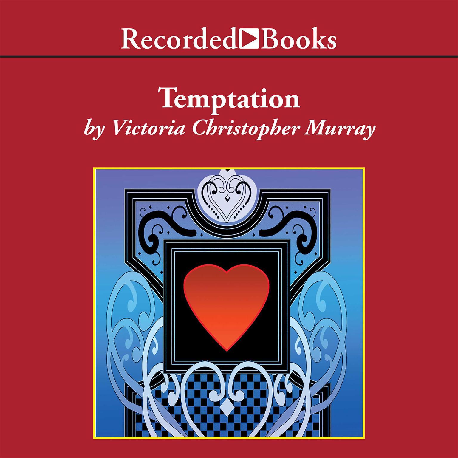Printable Temptation Audiobook Cover Art