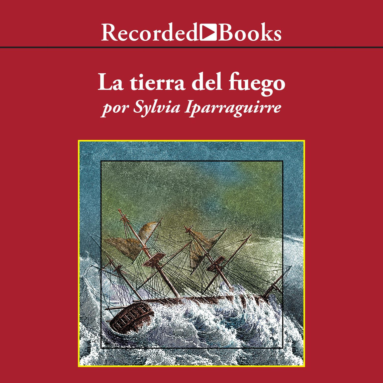 Printable La tierra del fuego Audiobook Cover Art