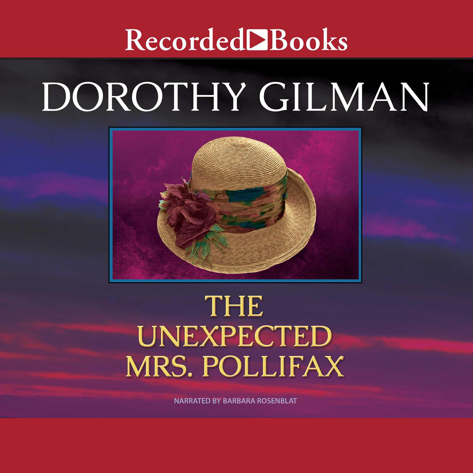 Printable The Unexpected Mrs. Pollifax Audiobook Cover Art