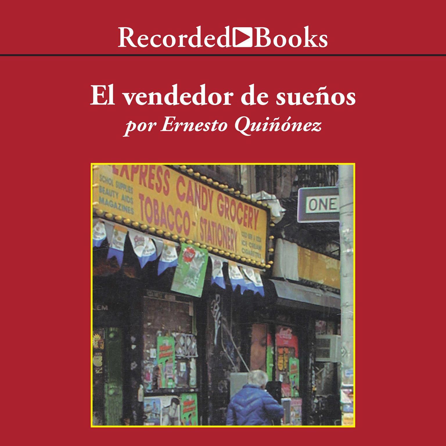 Printable El vendedor de sueños Audiobook Cover Art