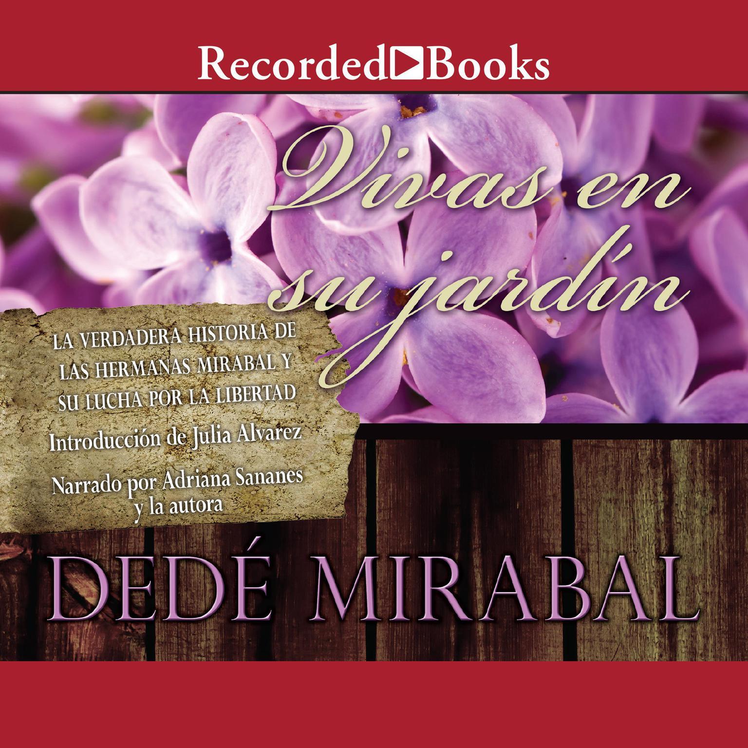 Printable Vivas en su jardín Audiobook Cover Art