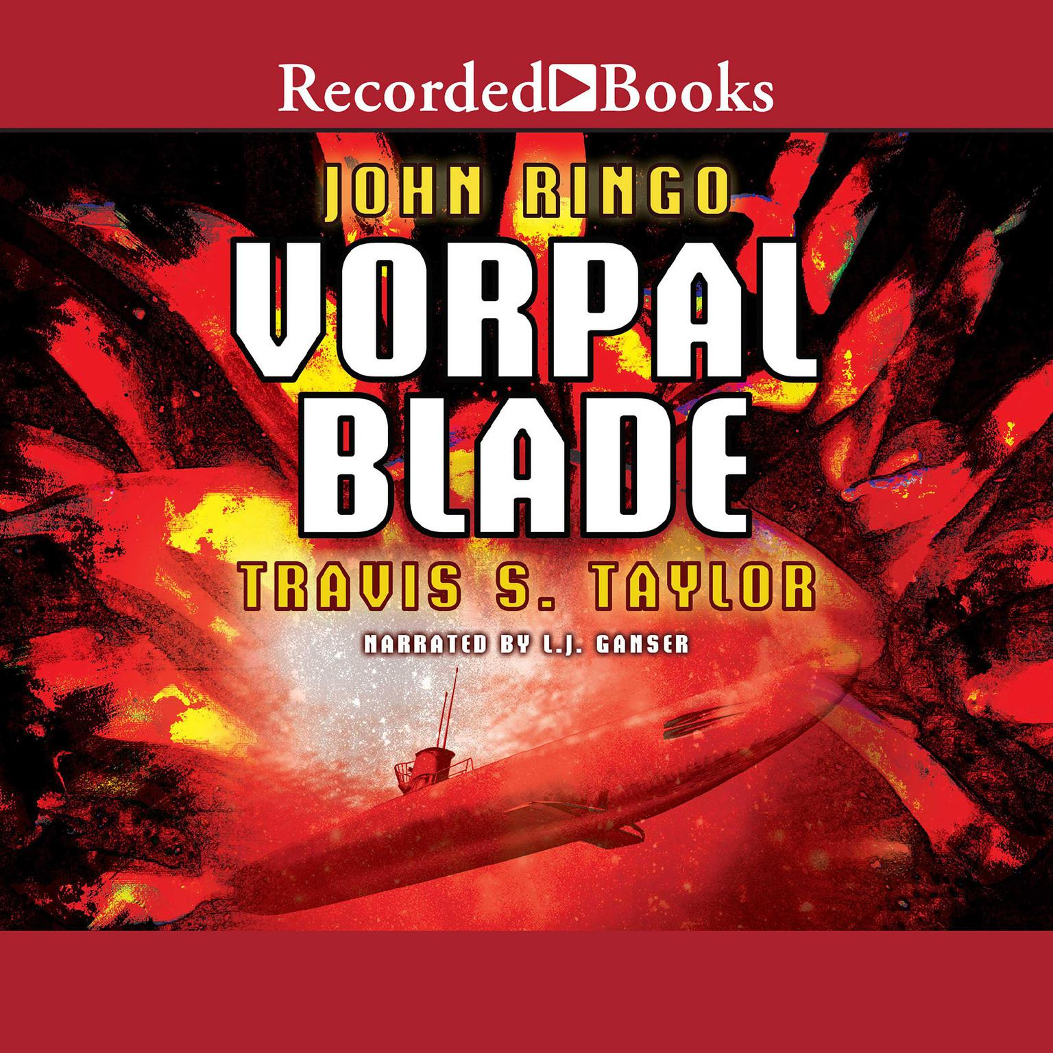 Printable Vorpal Blade Audiobook Cover Art
