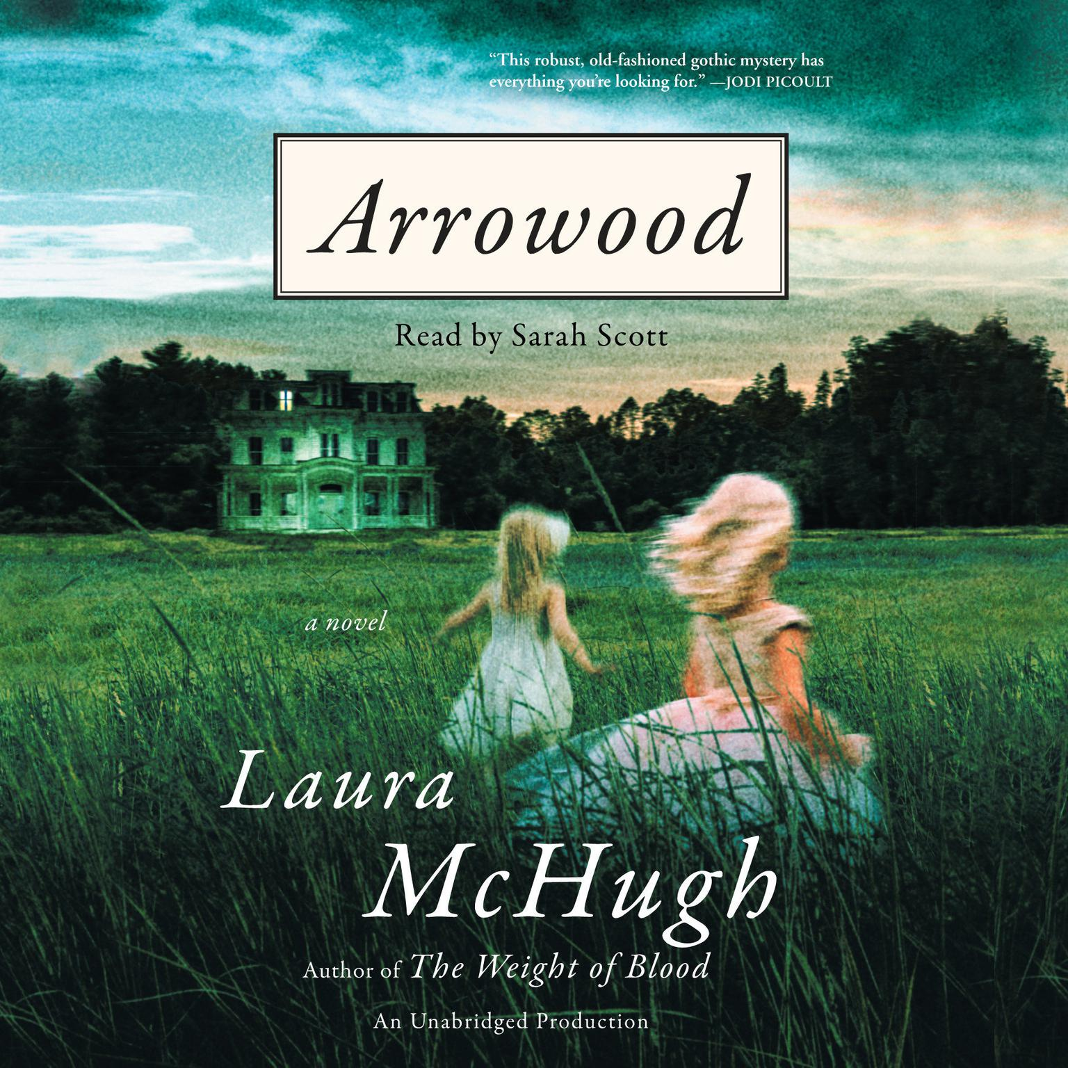 Printable Arrowood: A Novel Audiobook Cover Art