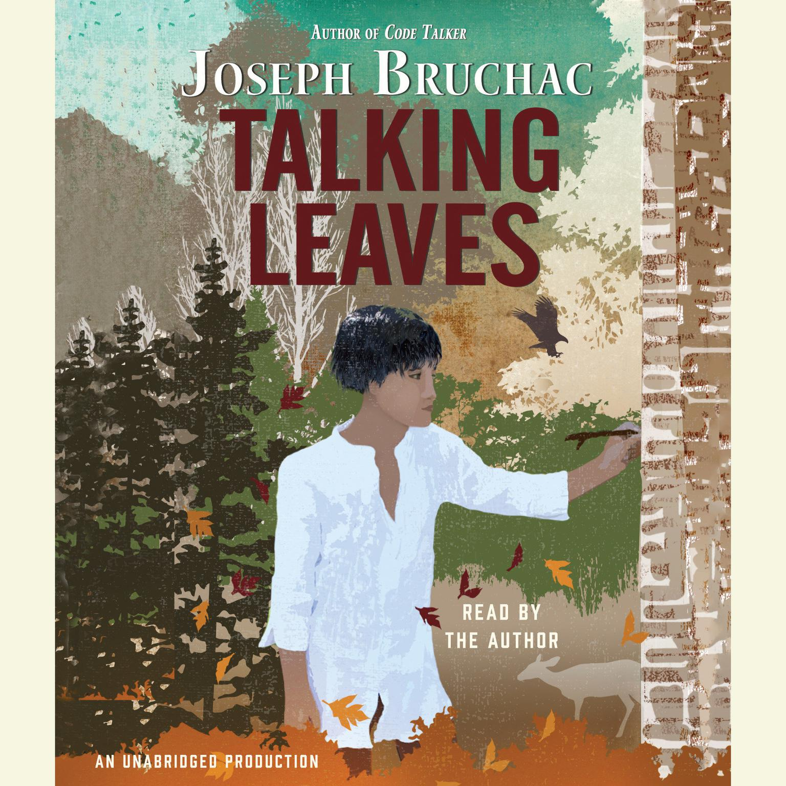 Printable Talking Leaves Audiobook Cover Art