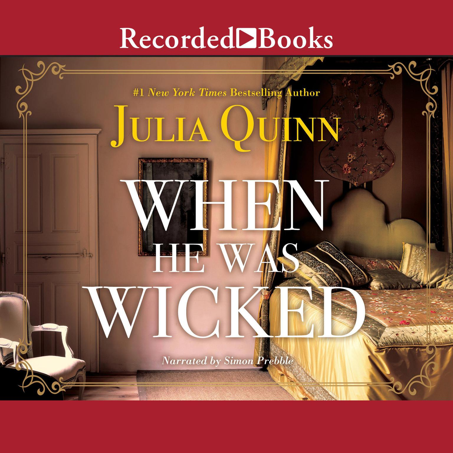 Printable When He Was Wicked Audiobook Cover Art