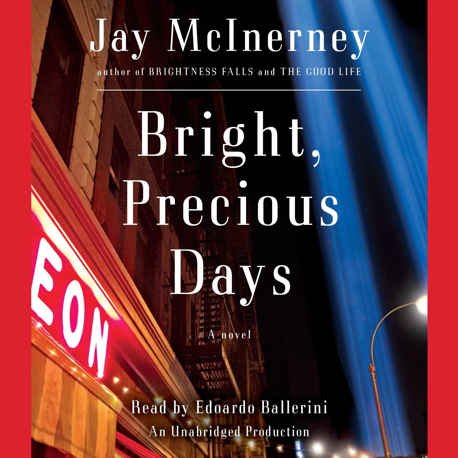Printable Bright, Precious Days: A novel Audiobook Cover Art