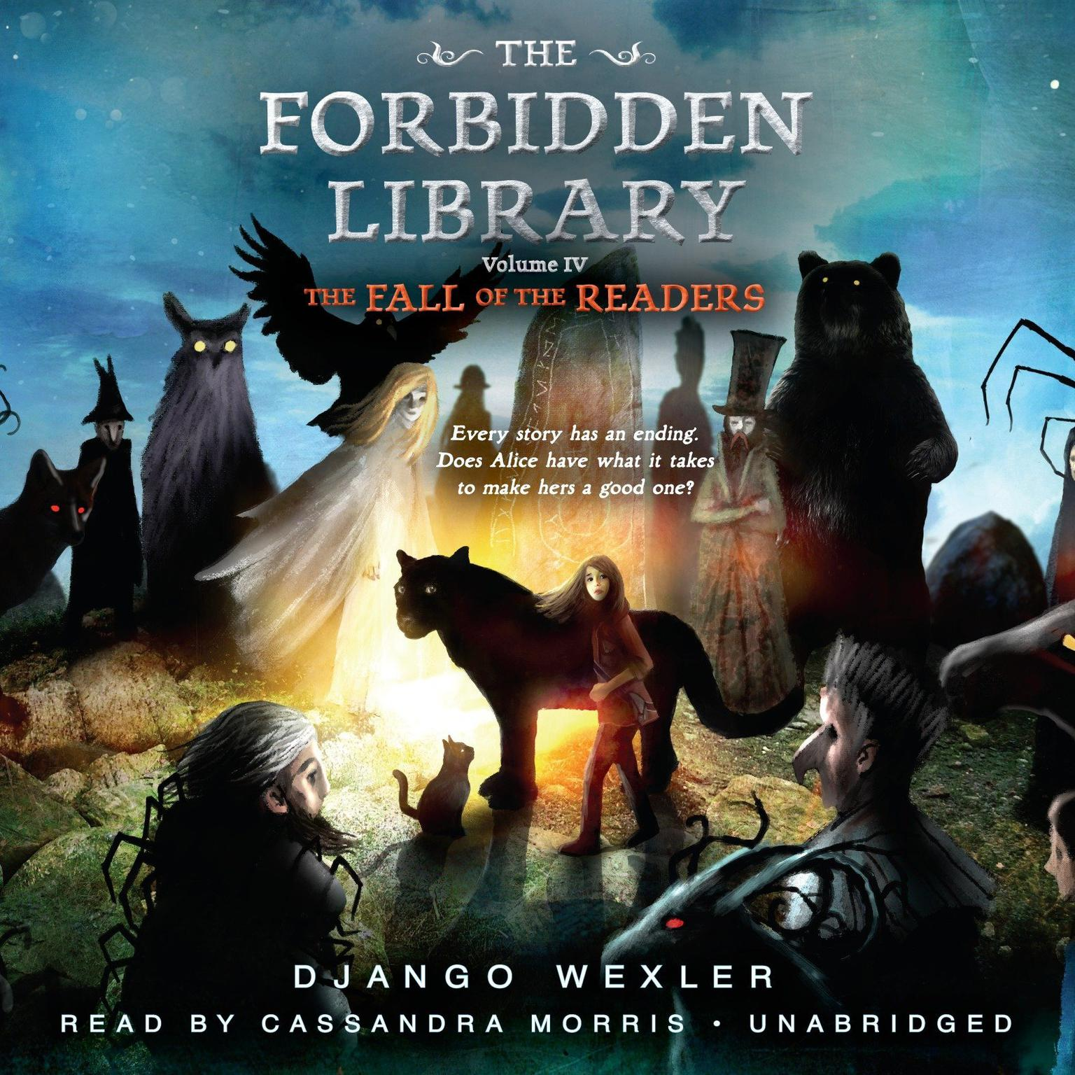 Printable The Fall of the Readers: The Forbidden Library: Volume 4 Audiobook Cover Art