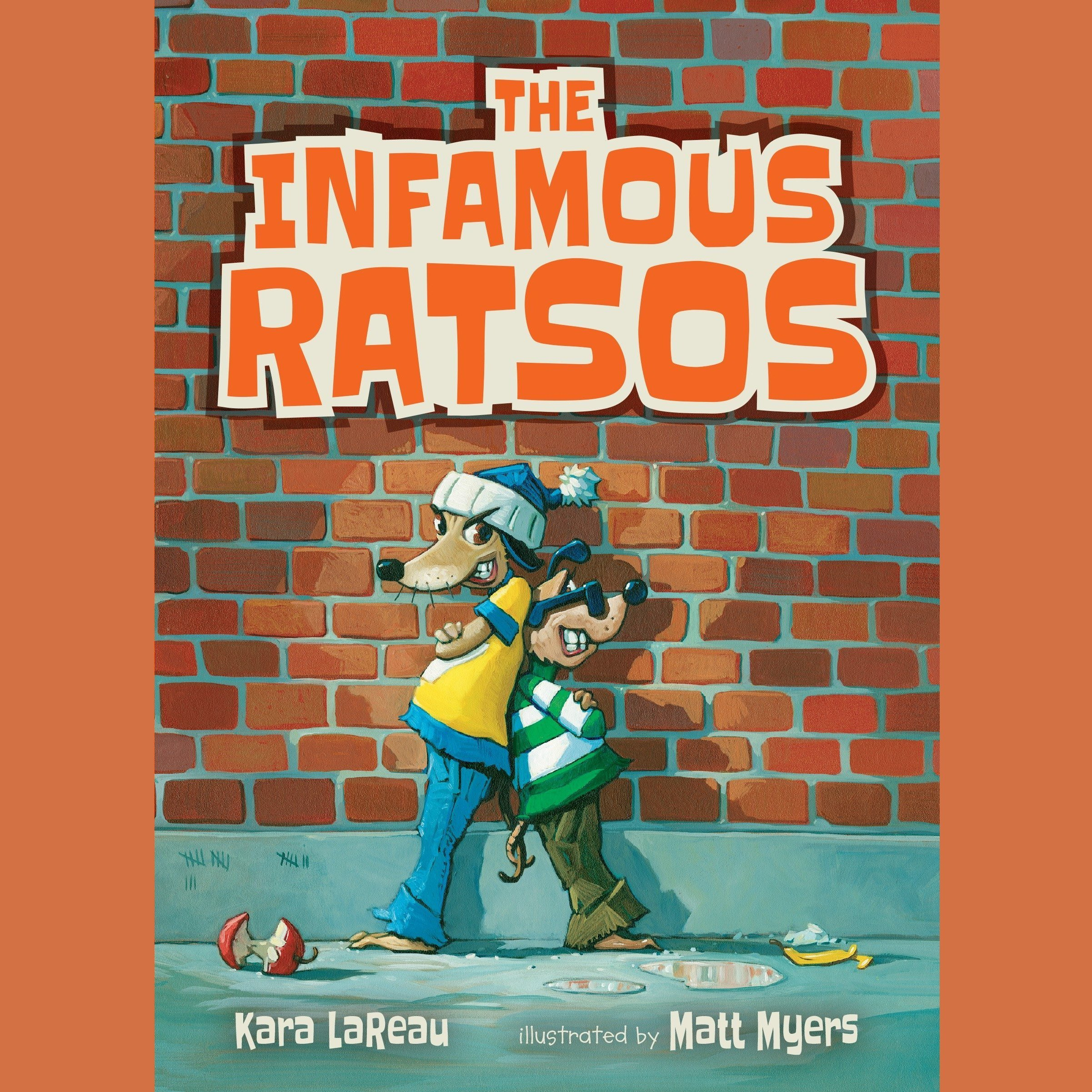 Printable The Infamous Ratsos Audiobook Cover Art