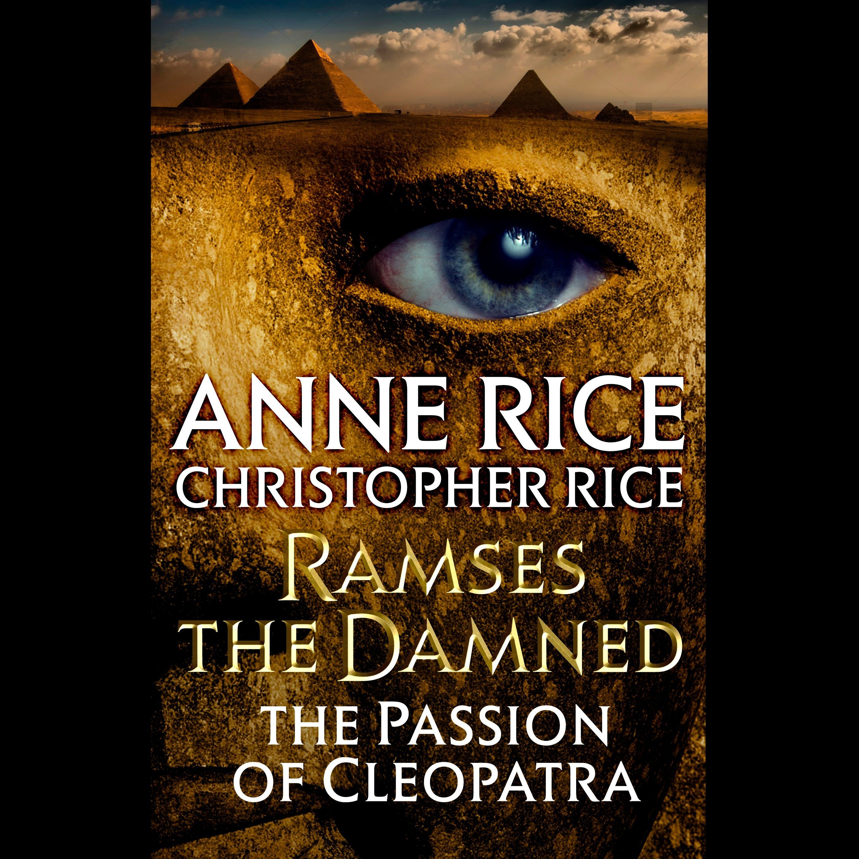 Printable Ramses the Damned: The Passion of Cleopatra Audiobook Cover Art