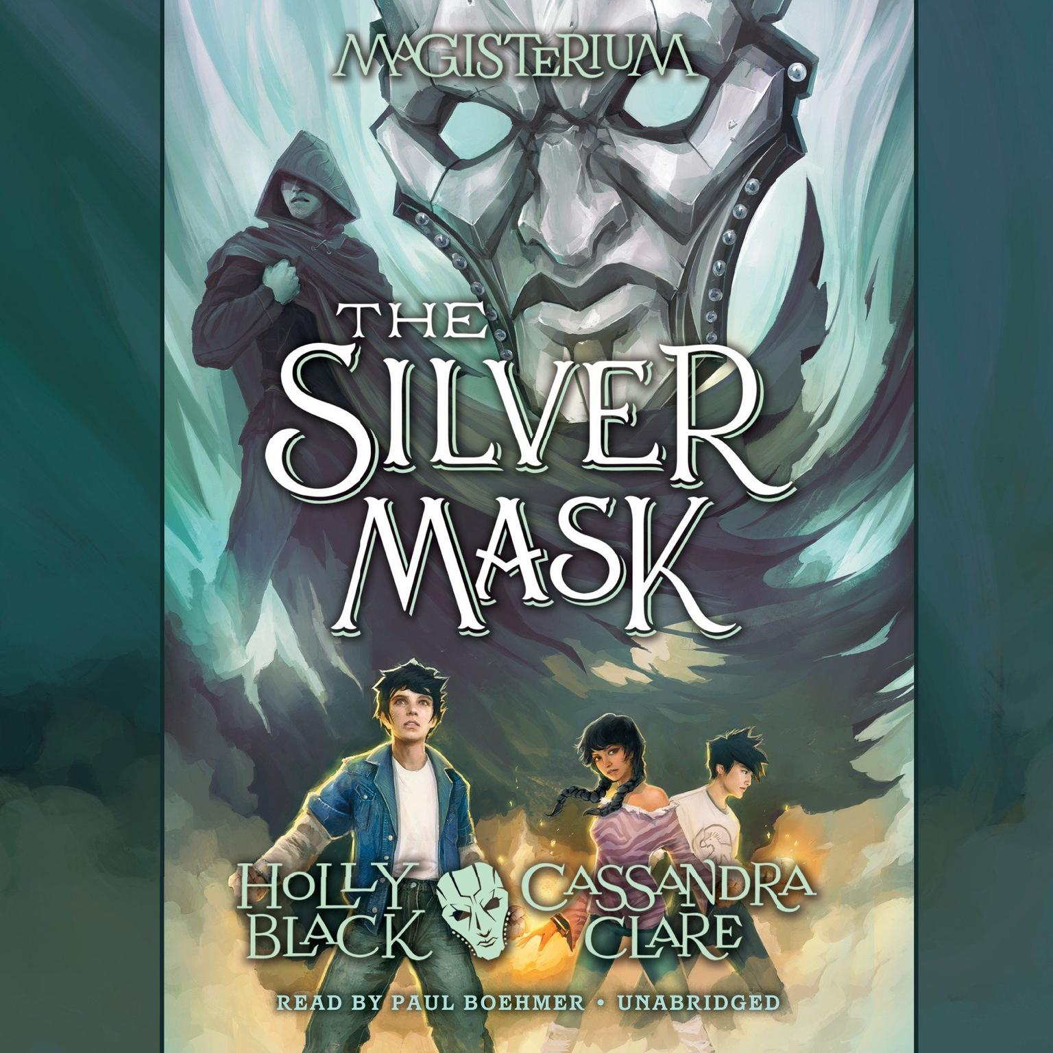 Printable The Silver Mask: Magisterium Book 4 Audiobook Cover Art