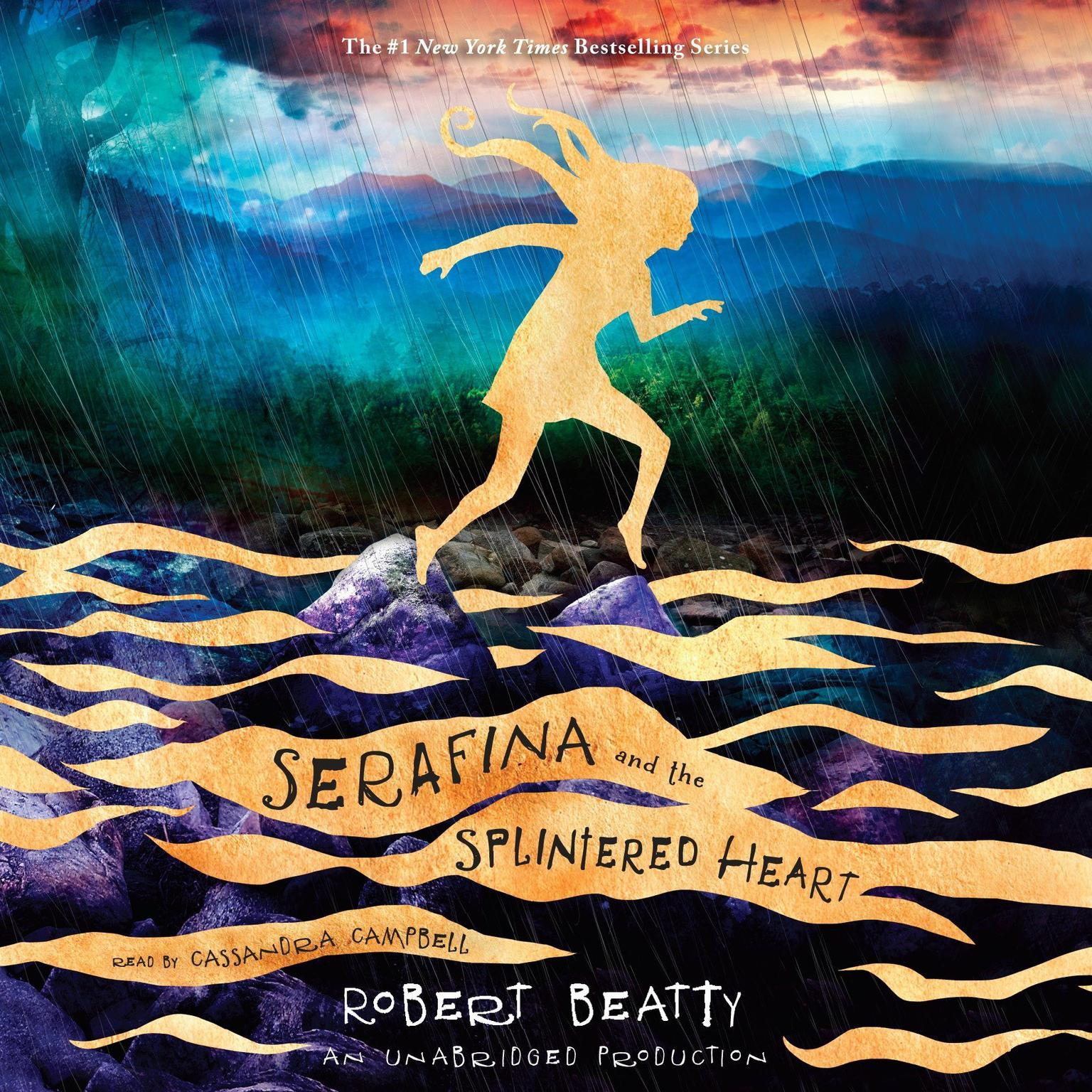 Printable Serafina and the Splintered Heart Audiobook Cover Art