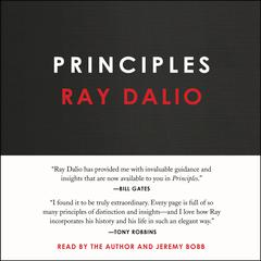 Principles: Life and Work Audiobook, by Ray Dalio, Jeremy Bobb