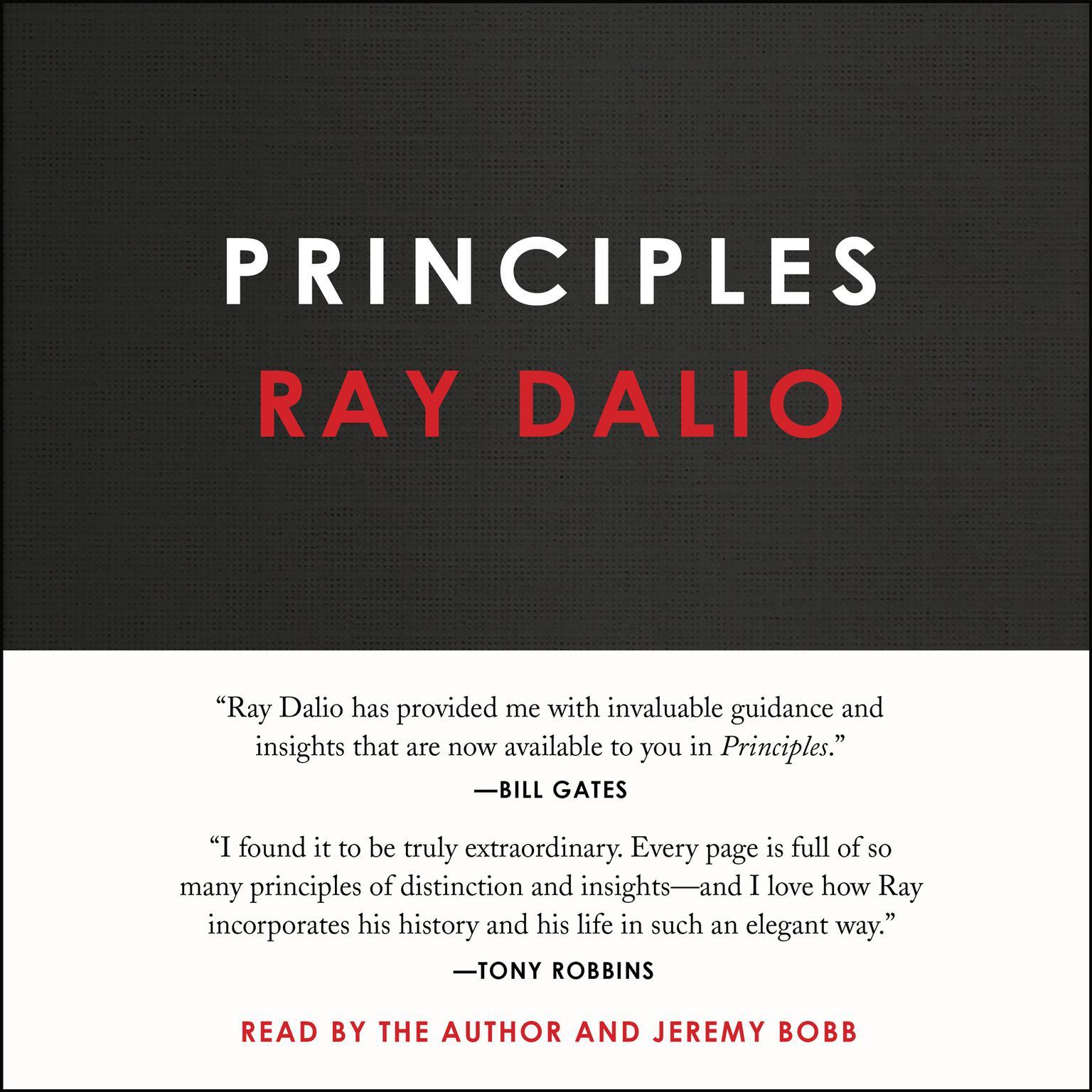 Printable Principles: Life and Work Audiobook Cover Art