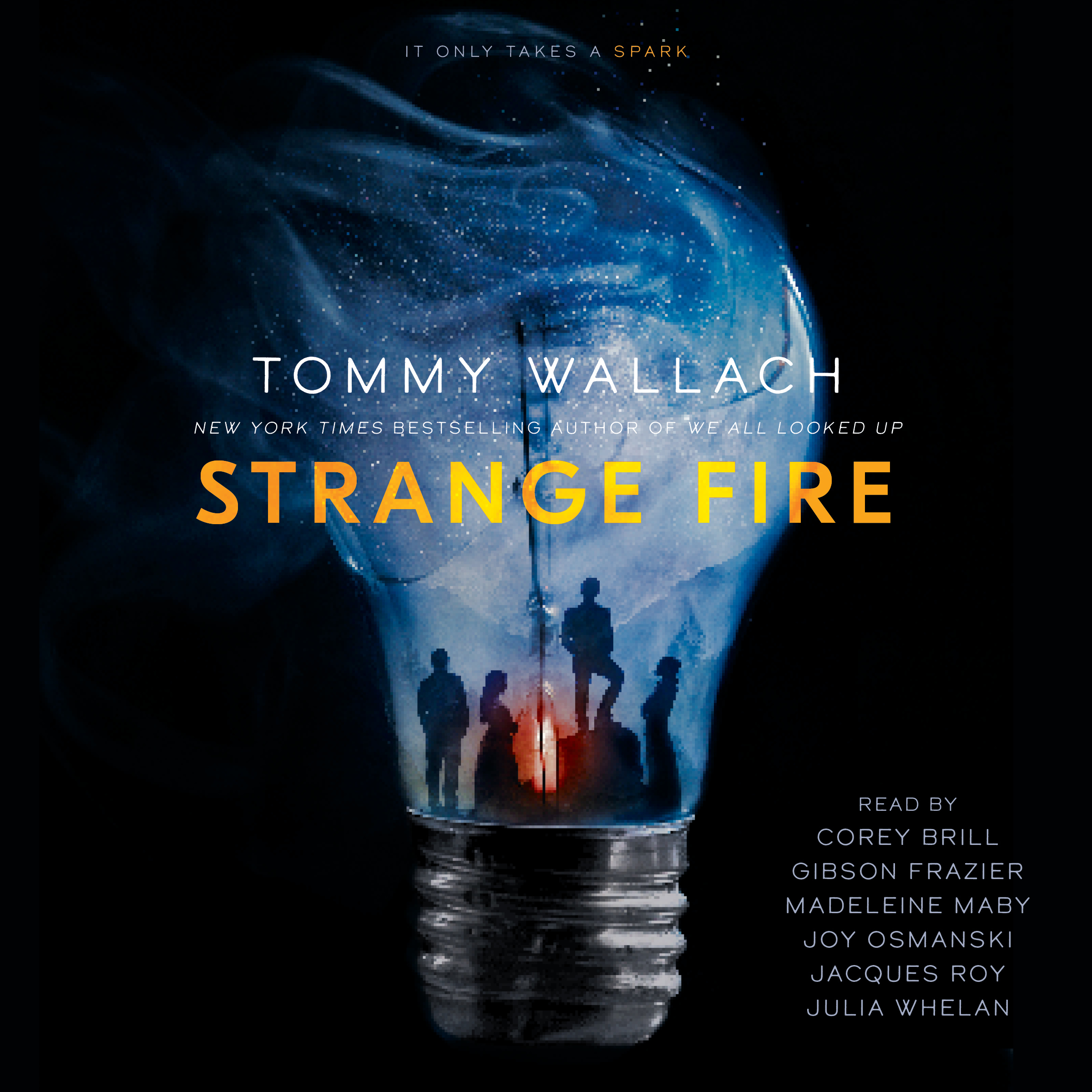 Printable Strange Fire Audiobook Cover Art